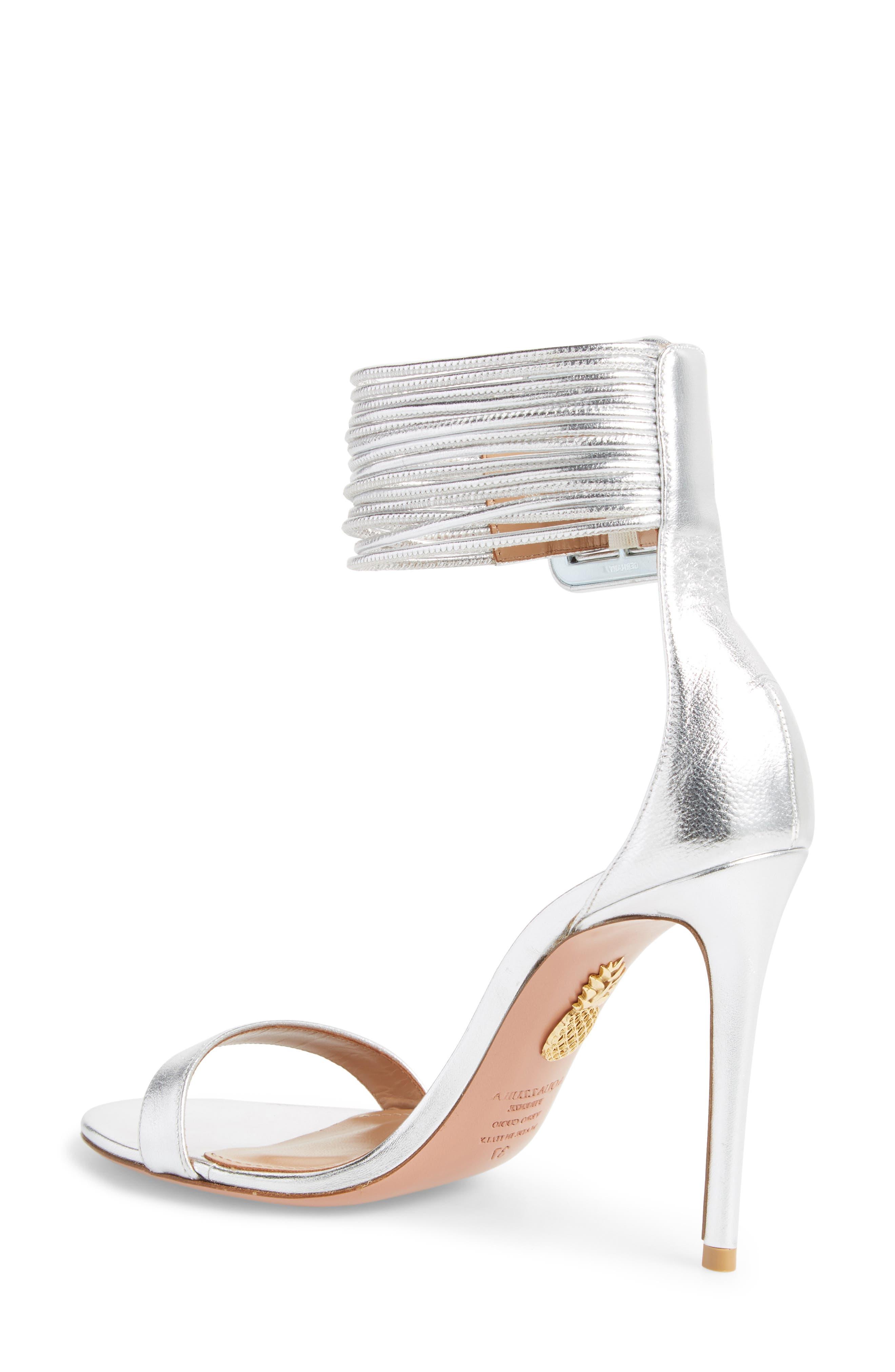 Alternate Image 2  - Aquazzura Casablanca Ankle Cuff Sandal (Women)
