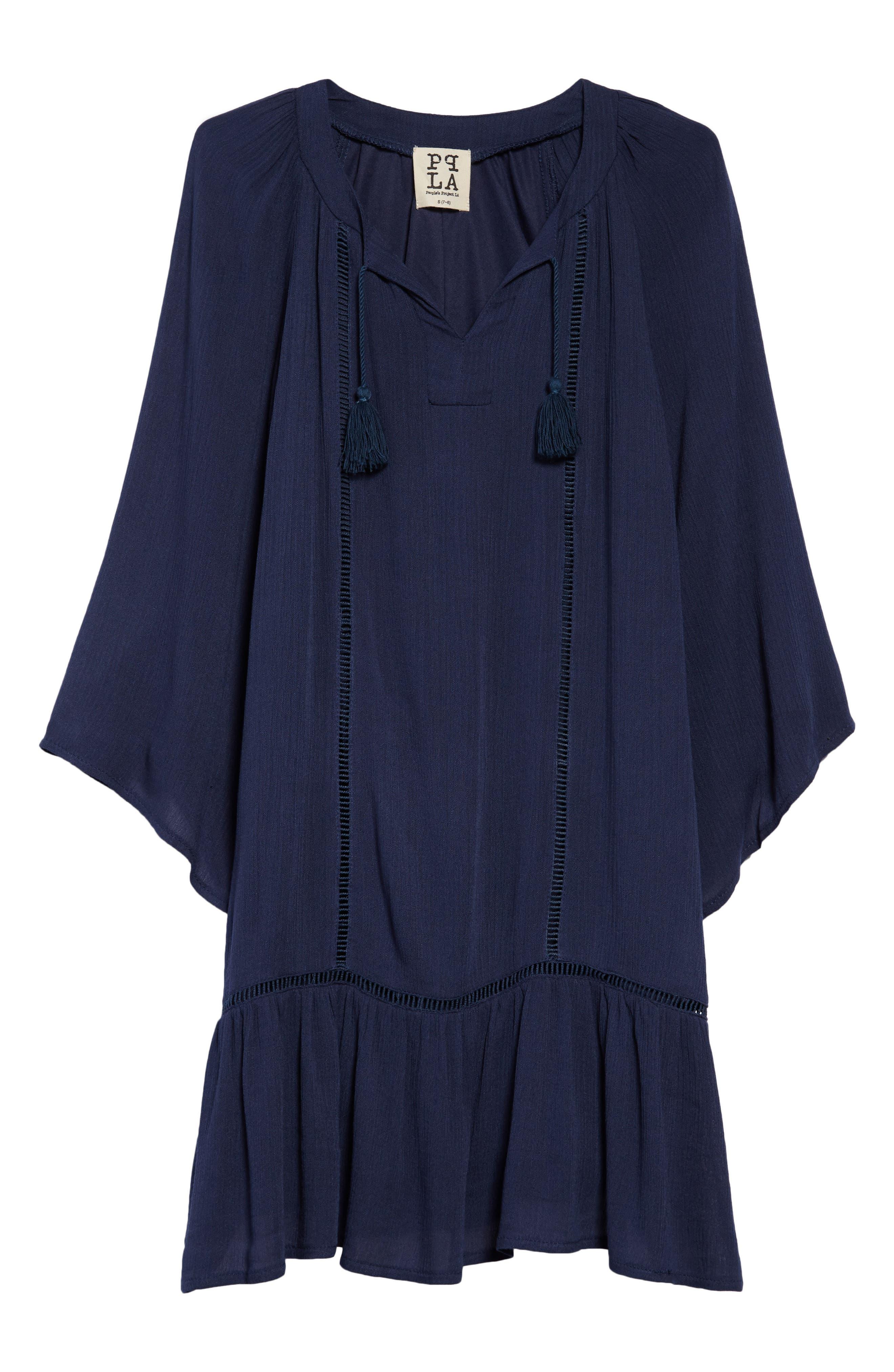 Vivienne Dress,                         Main,                         color, Navy