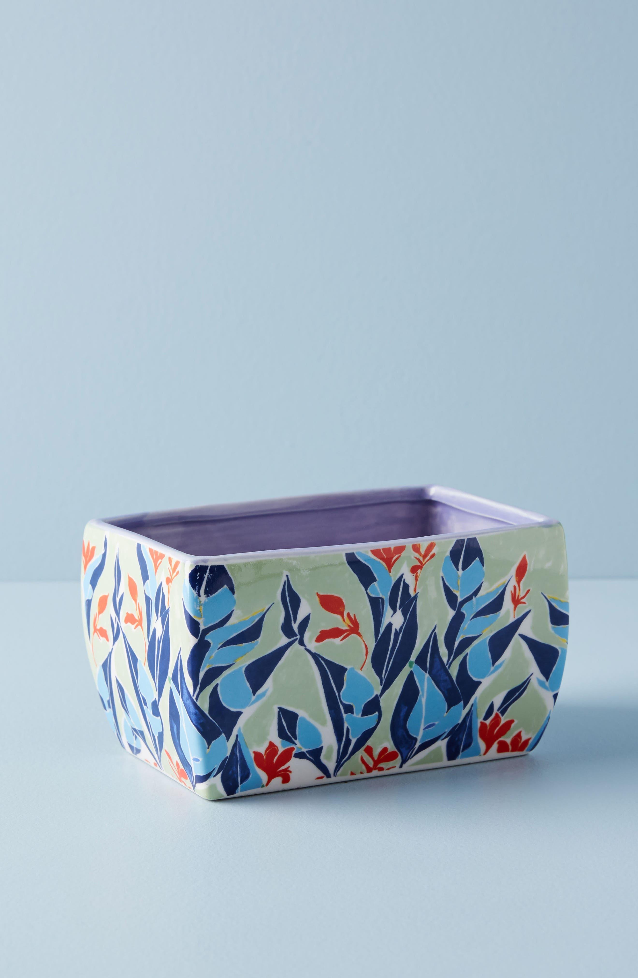 Main Image - Anthropologie Sisters Gulassa Floral Pot