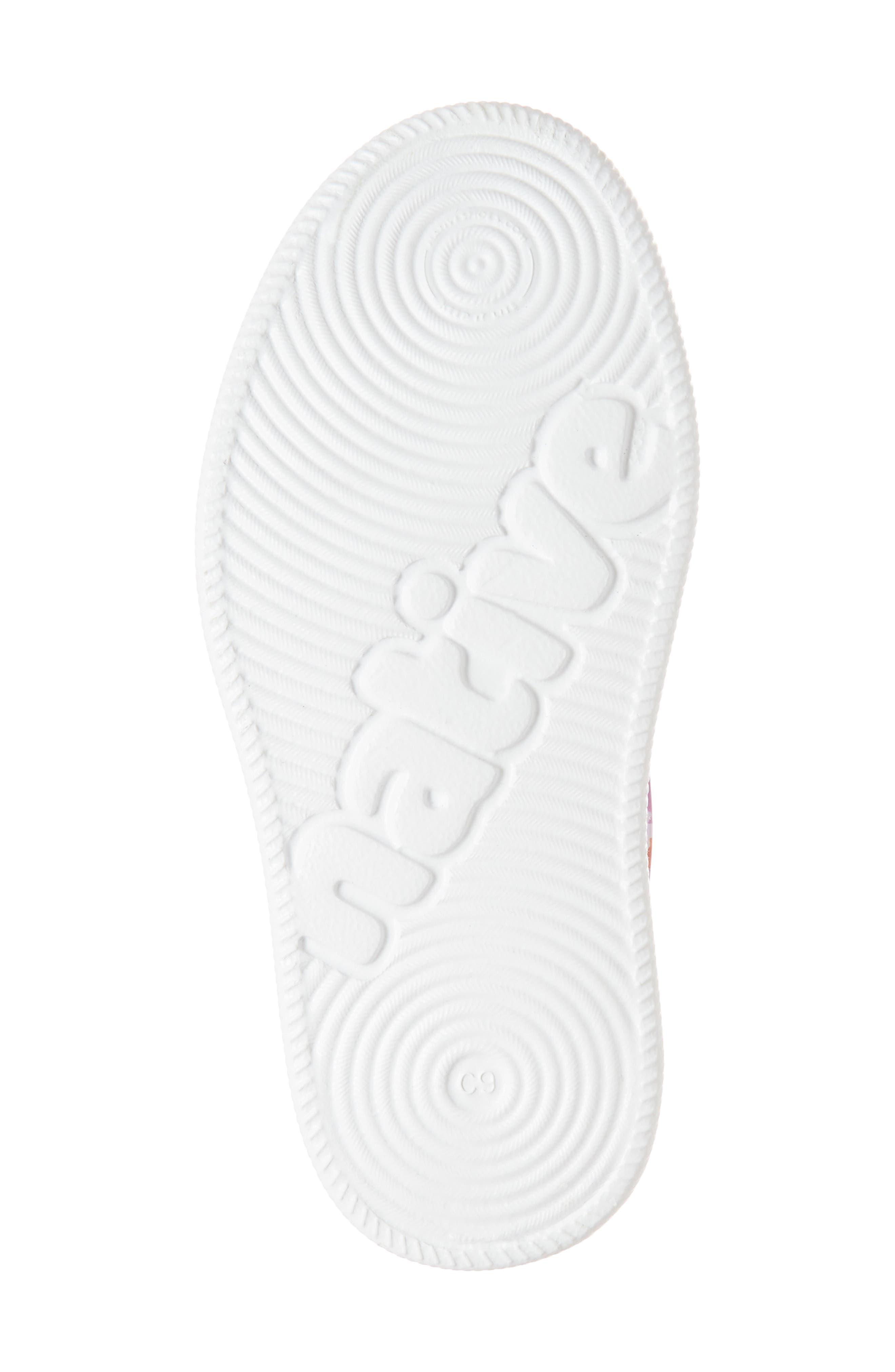 Verona Perforated Slip-On,                             Alternate thumbnail 6, color,                             Peace Purple/ White/ Daisy