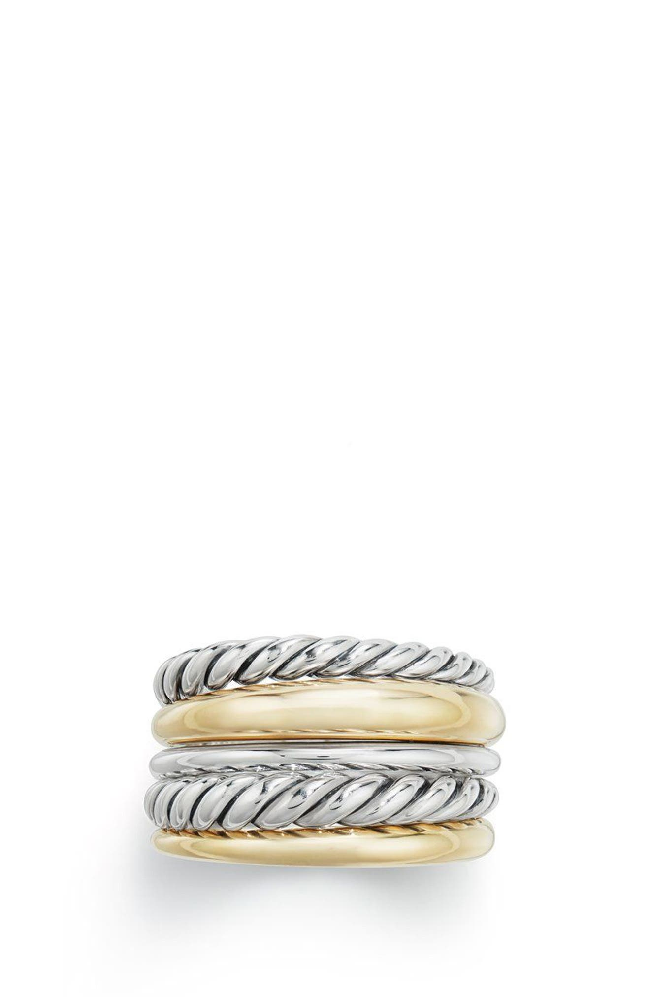 Alternate Image 1 Selected - David Yurman Pure Form® Wide Ring