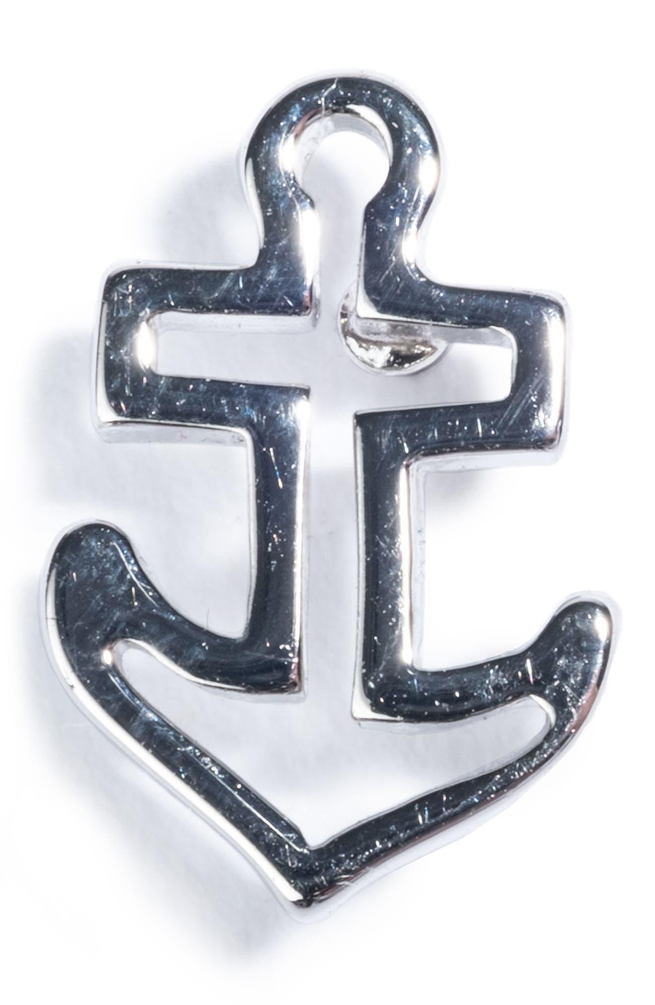 Anchor Pin,                             Main thumbnail 1, color,                             Silver
