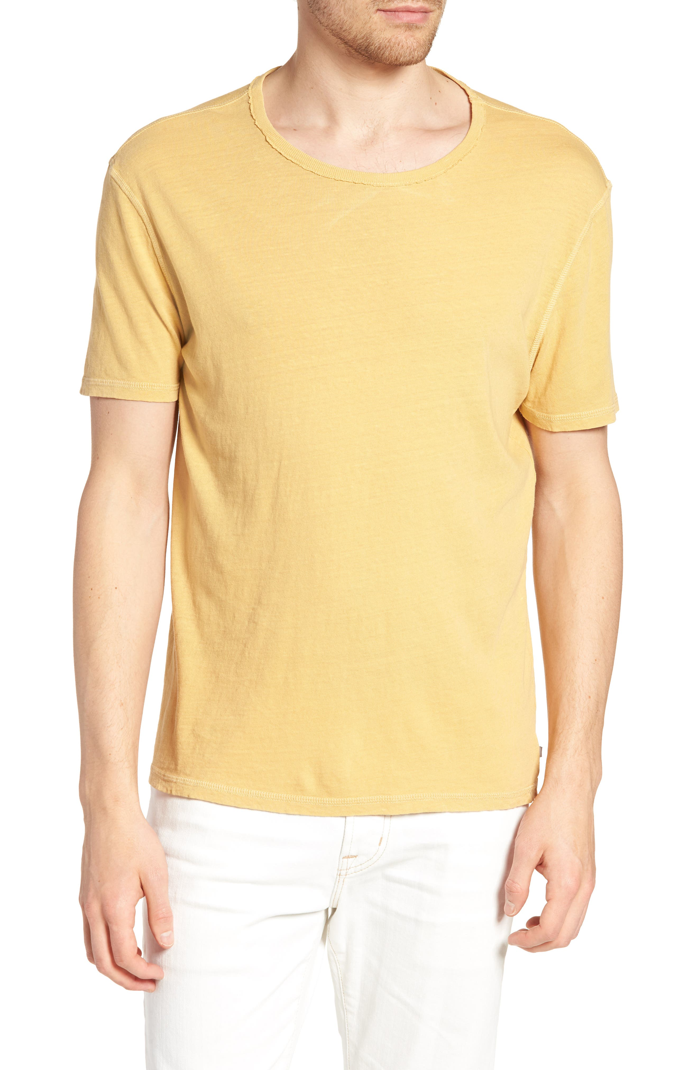 Ramsey Slim Fit Crewneck T-Shirt,                             Main thumbnail 1, color,                             Weathered Golden Emmer