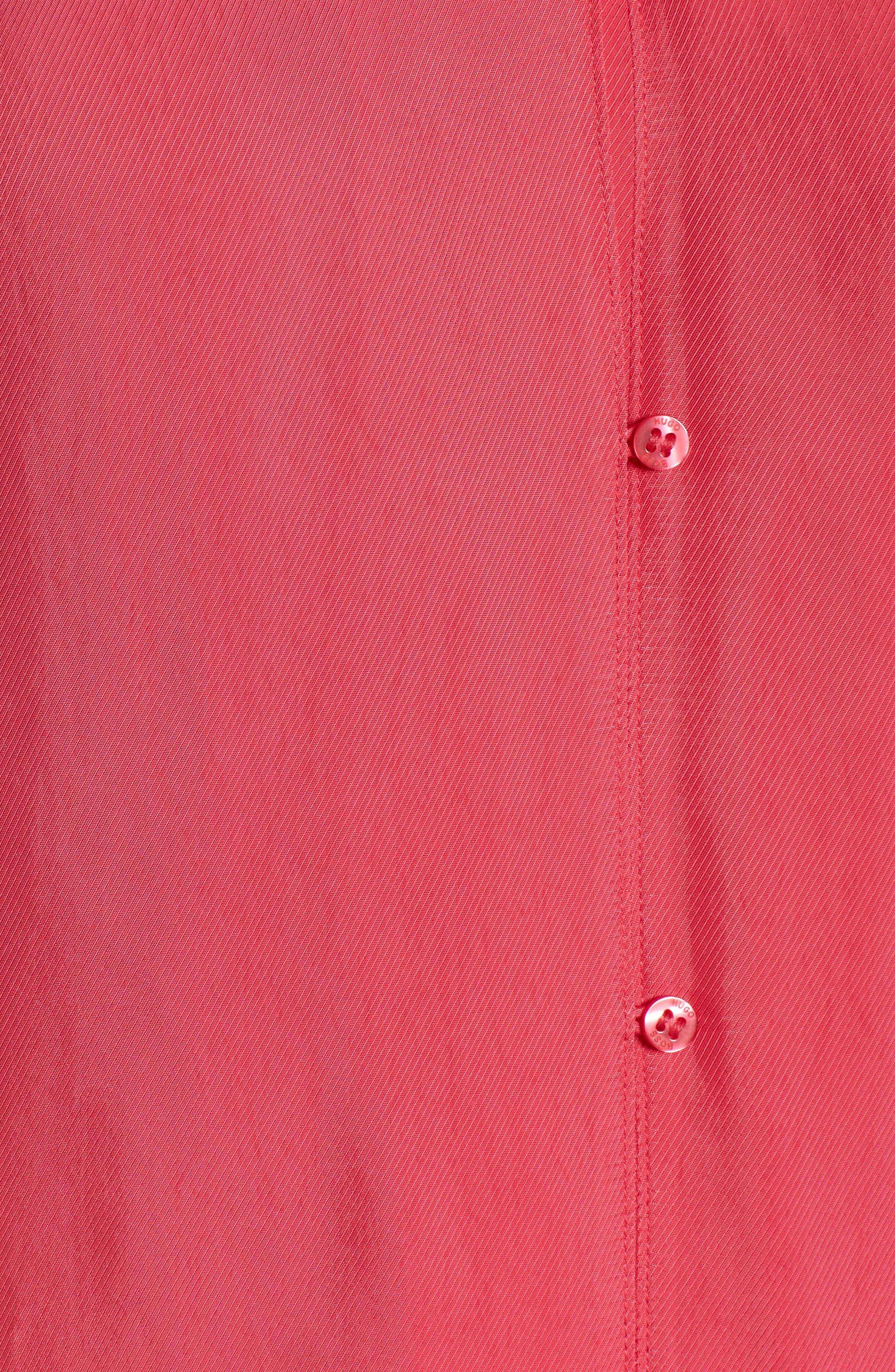 Rosalia Blouse,                             Alternate thumbnail 5, color,                             Lychee Pink