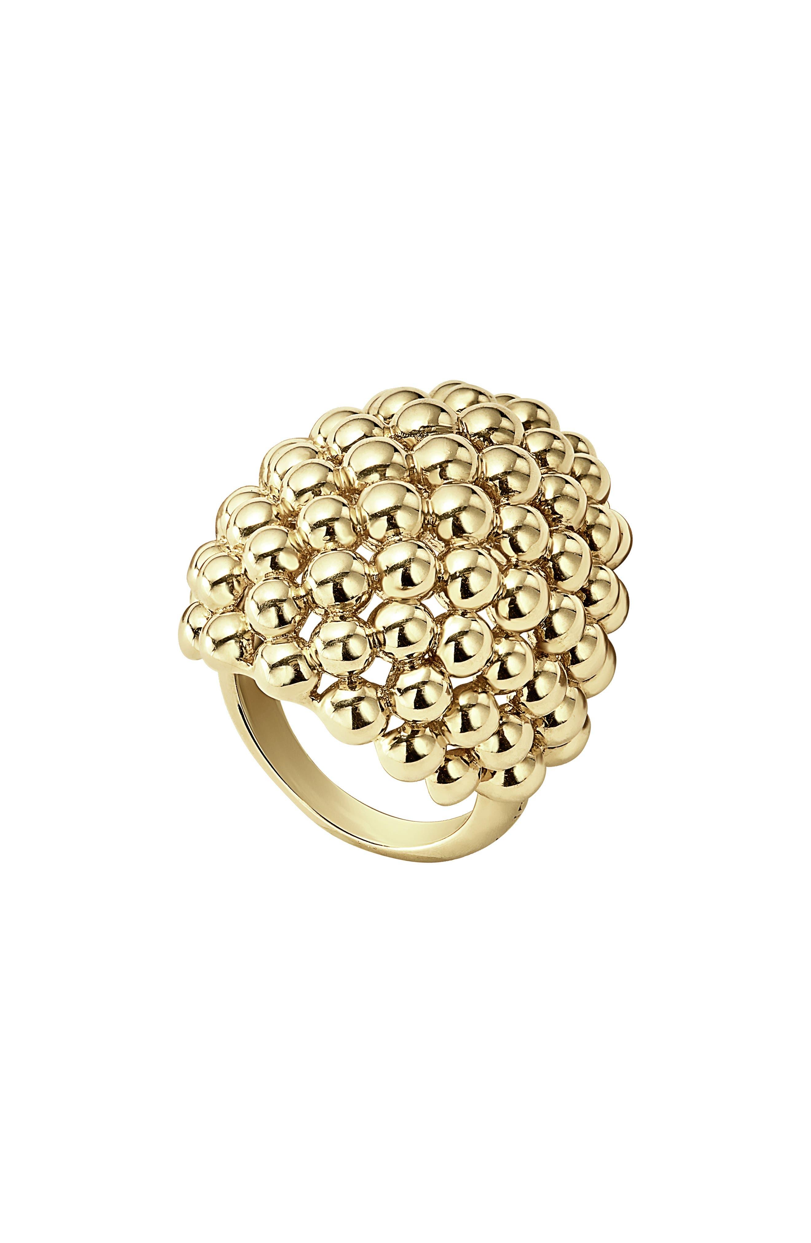 Dome Ring,                             Main thumbnail 1, color,                             Gold