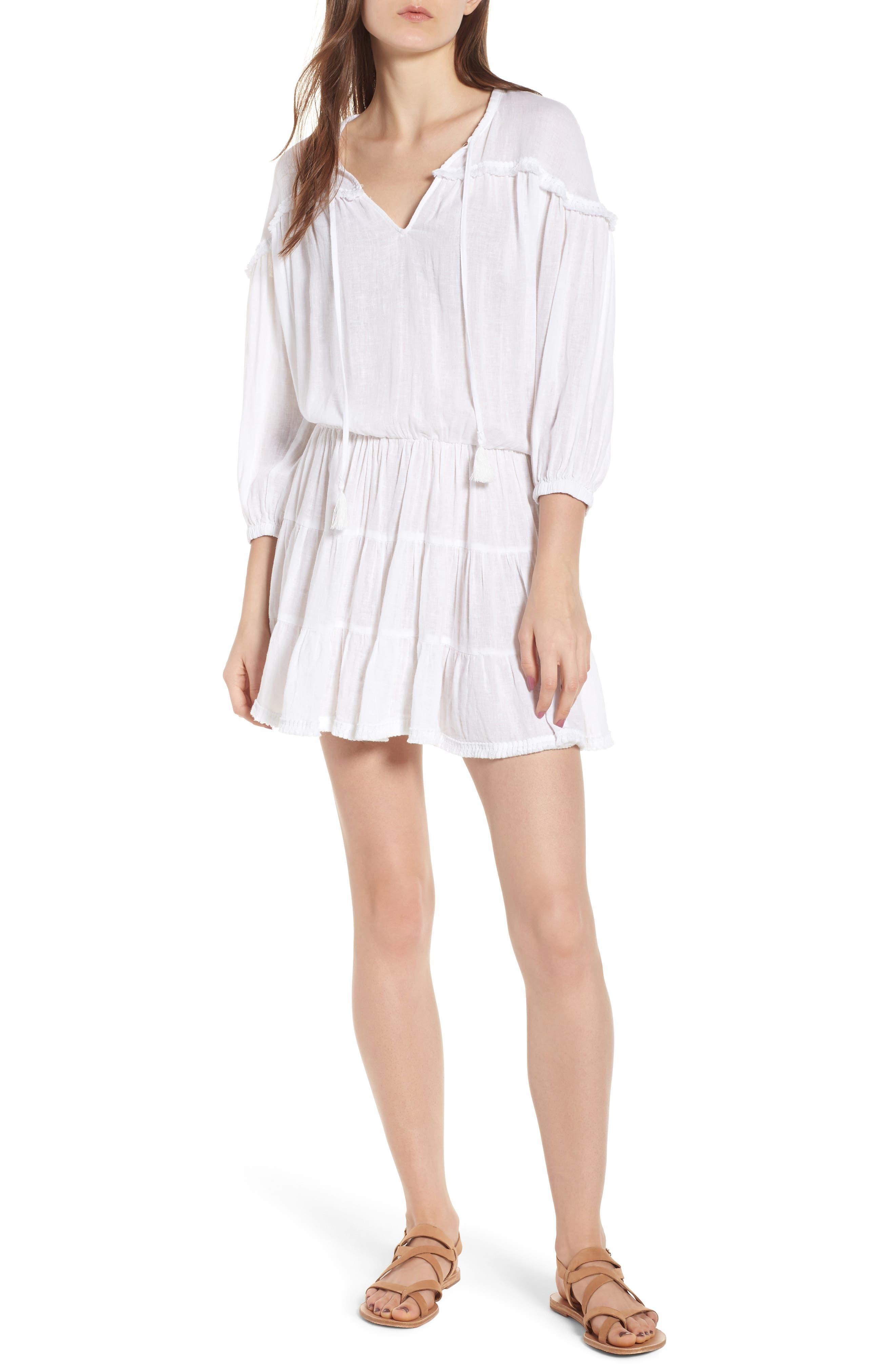 Sansa Minidress,                         Main,                         color, White