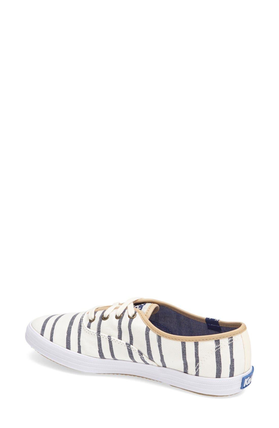 Alternate Image 4  - Keds® 'Champion - Washed Beach Stripe' Sneaker (Women)
