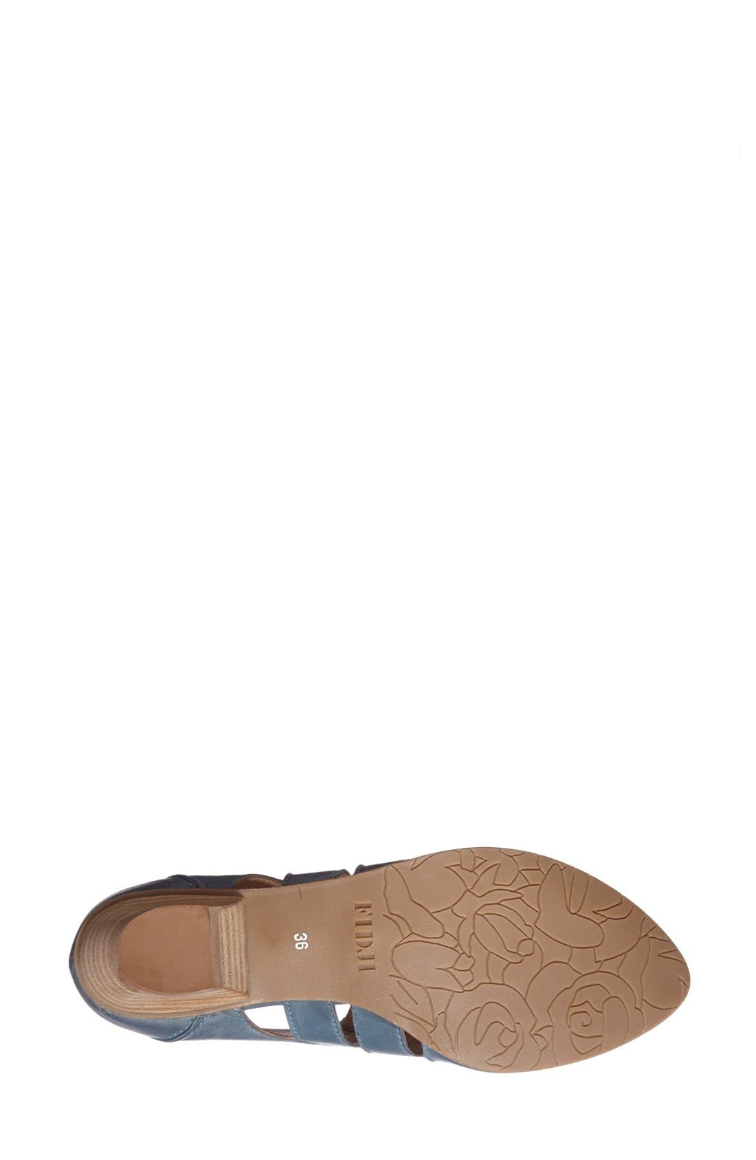 Alternate Image 4  - Fidji 'VO92' Perforated Leather Pump (Women)