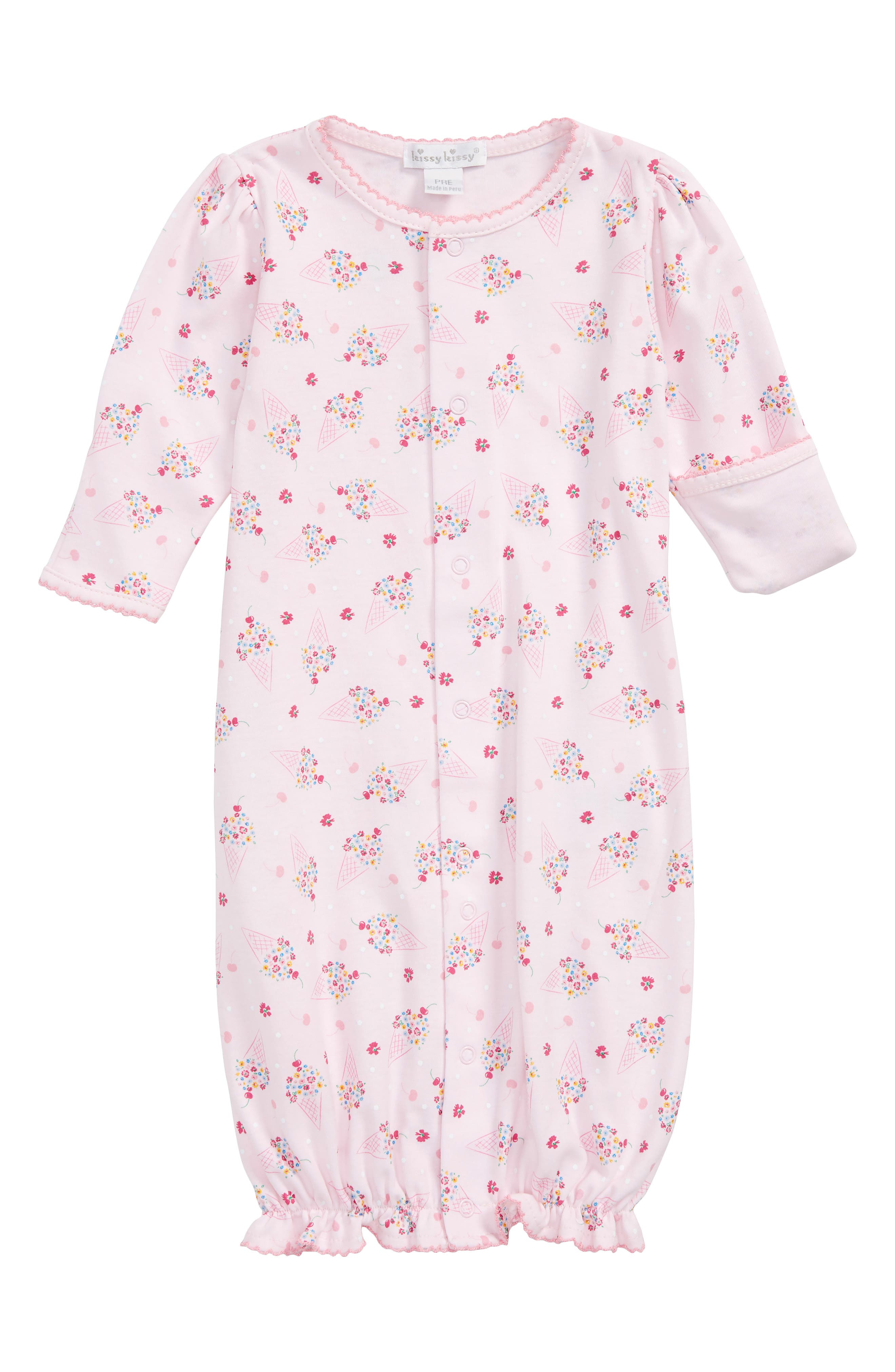 Kissy Kissy Cherry on Top Convertible Gown (Baby Girls)