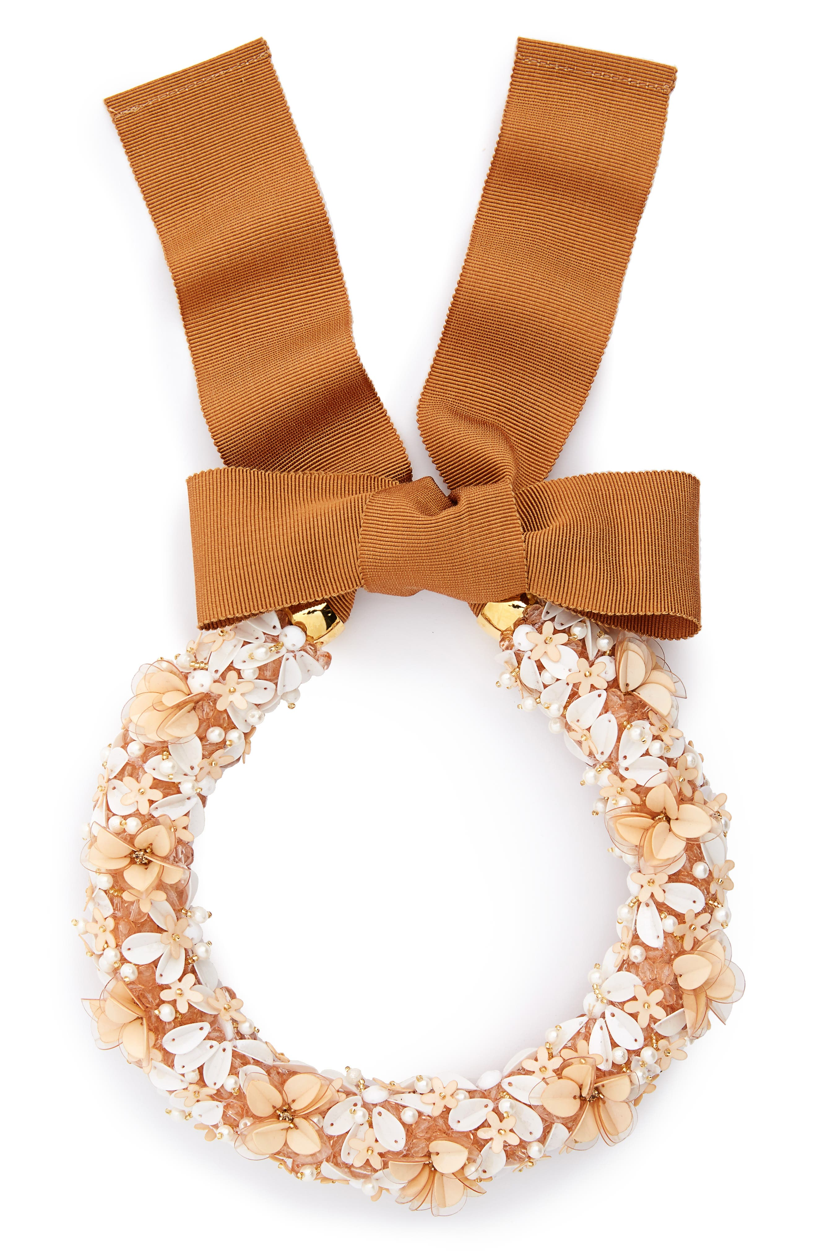 Flower District Collar Necklace,                         Main,                         color, Multi
