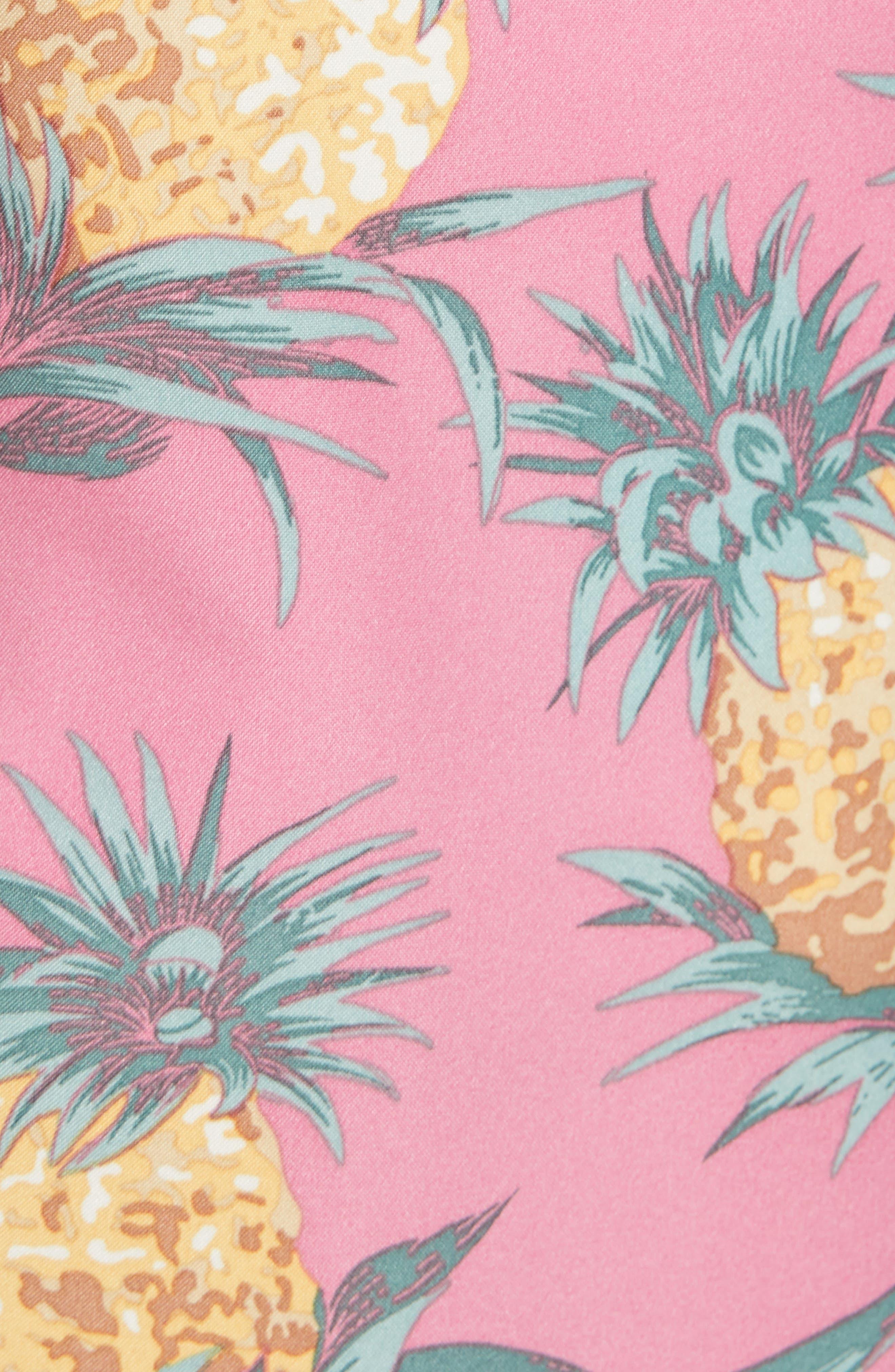 Banzai 9-Inch Swim Trunks,                             Alternate thumbnail 5, color,                             Pineapples Print