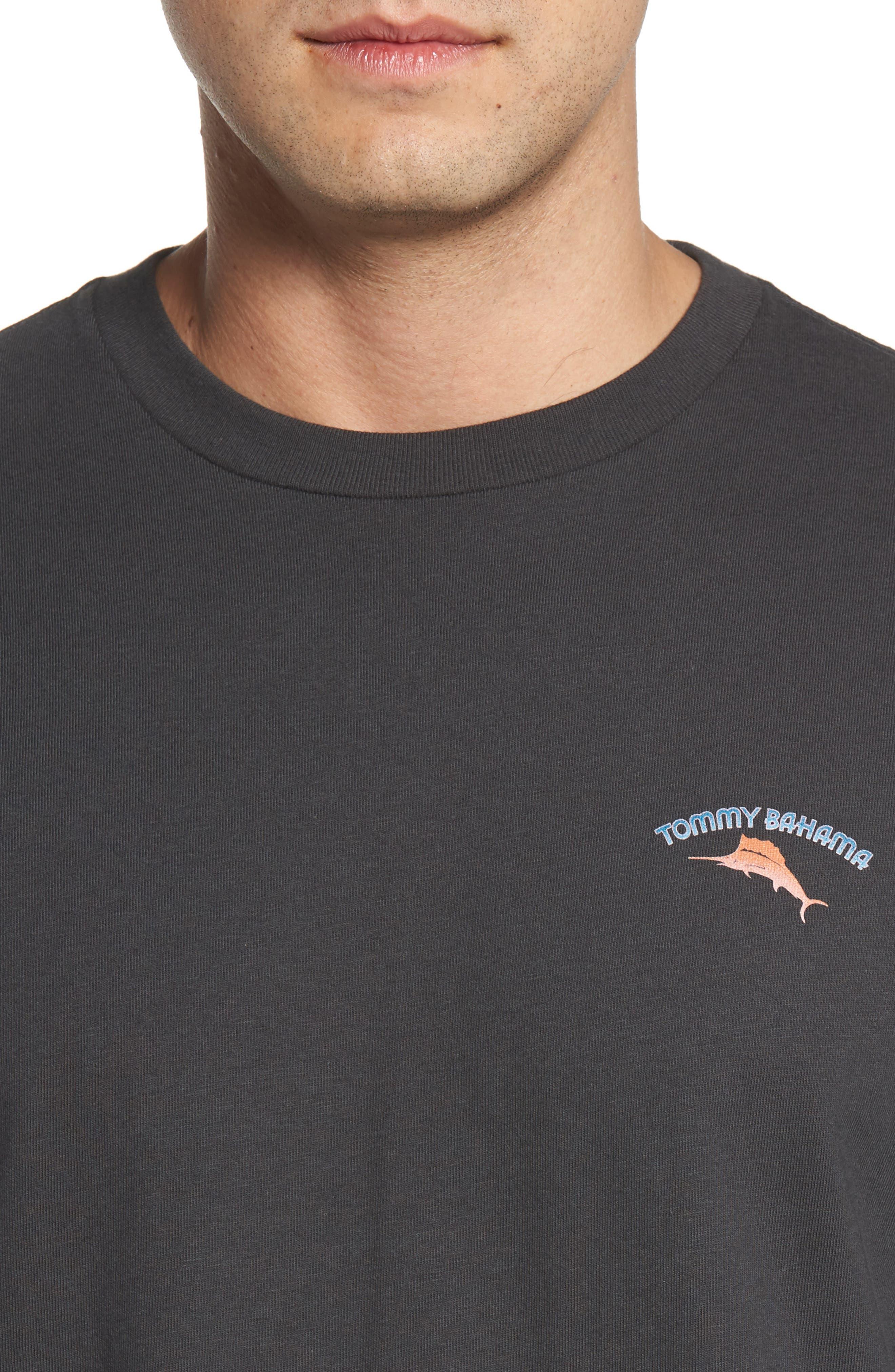 Bromingos T-Shirt,                             Alternate thumbnail 4, color,                             Coal