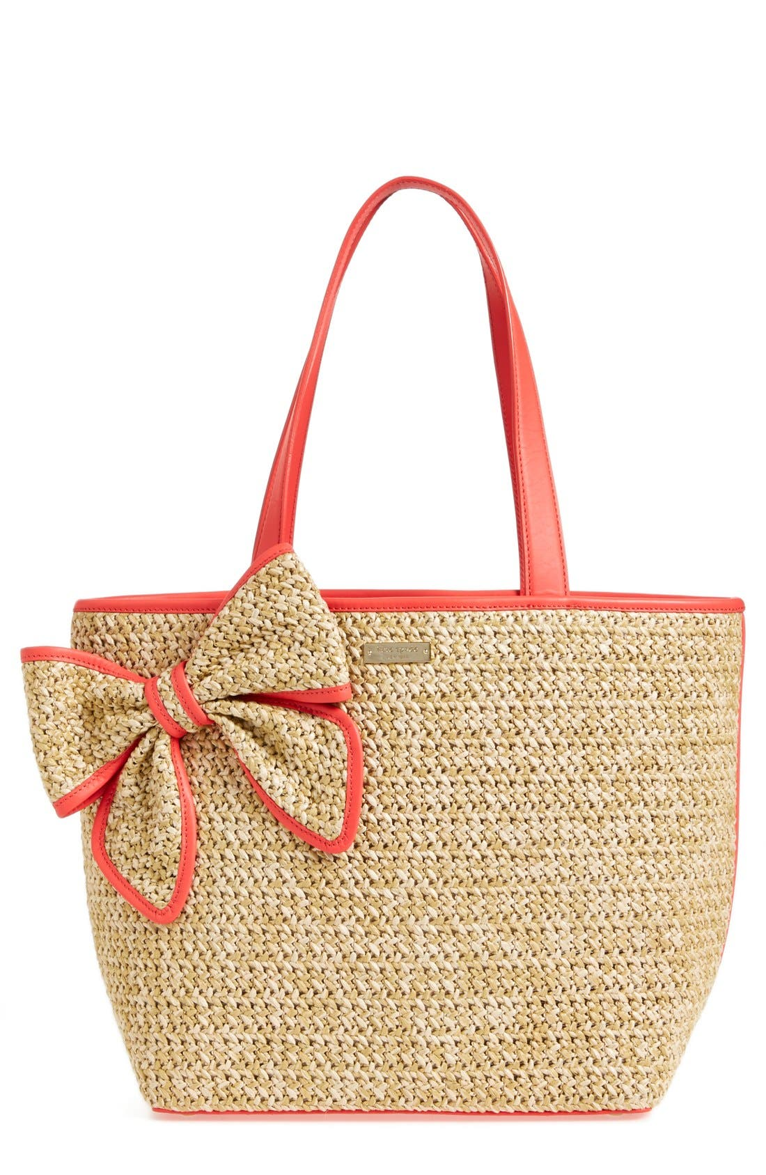 Alternate Image 1 Selected - kate spade 'belle place' straw tote