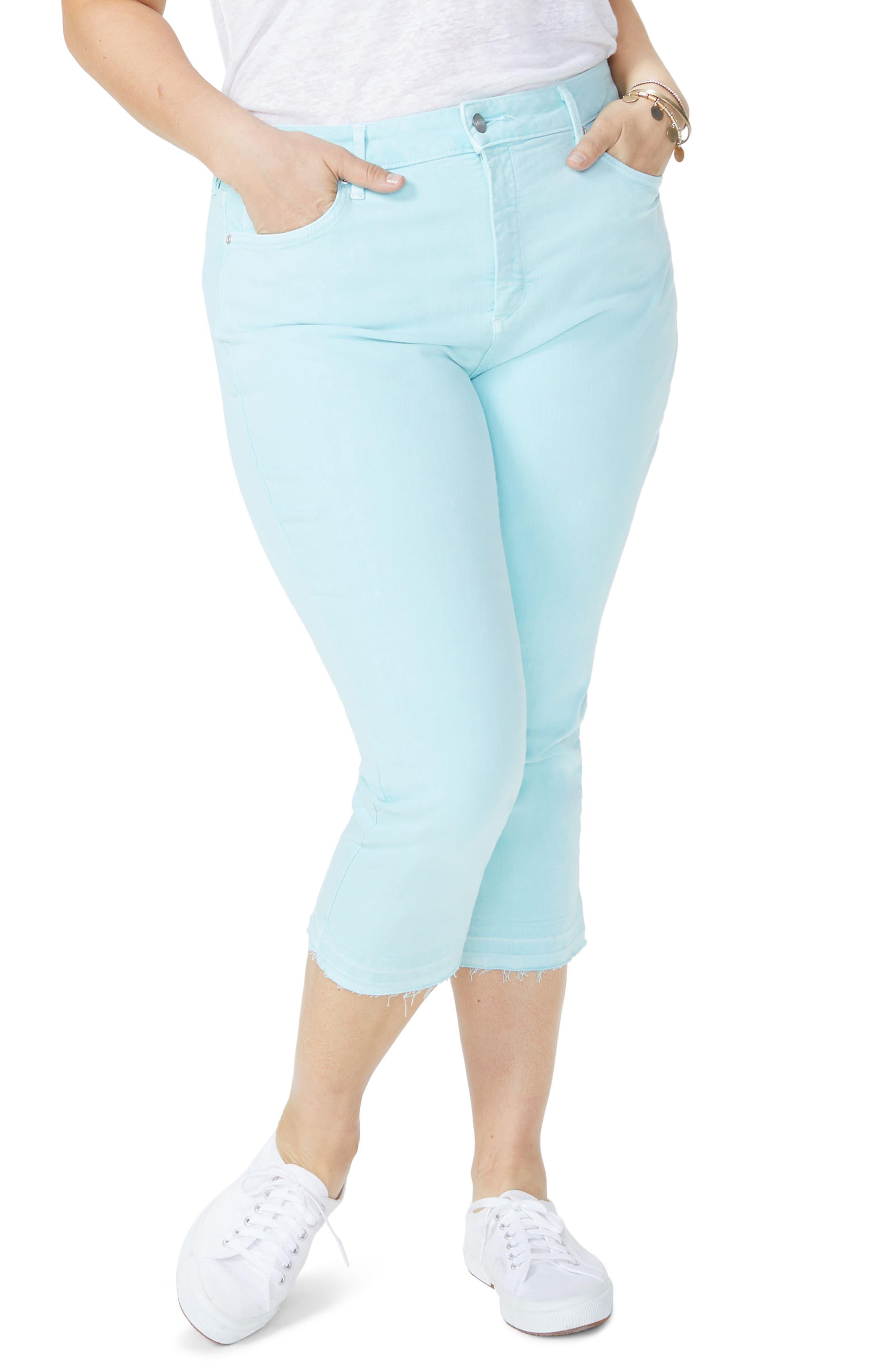 Release Hem Skinny Jeans,                             Main thumbnail 1, color,                             Pale Cabana