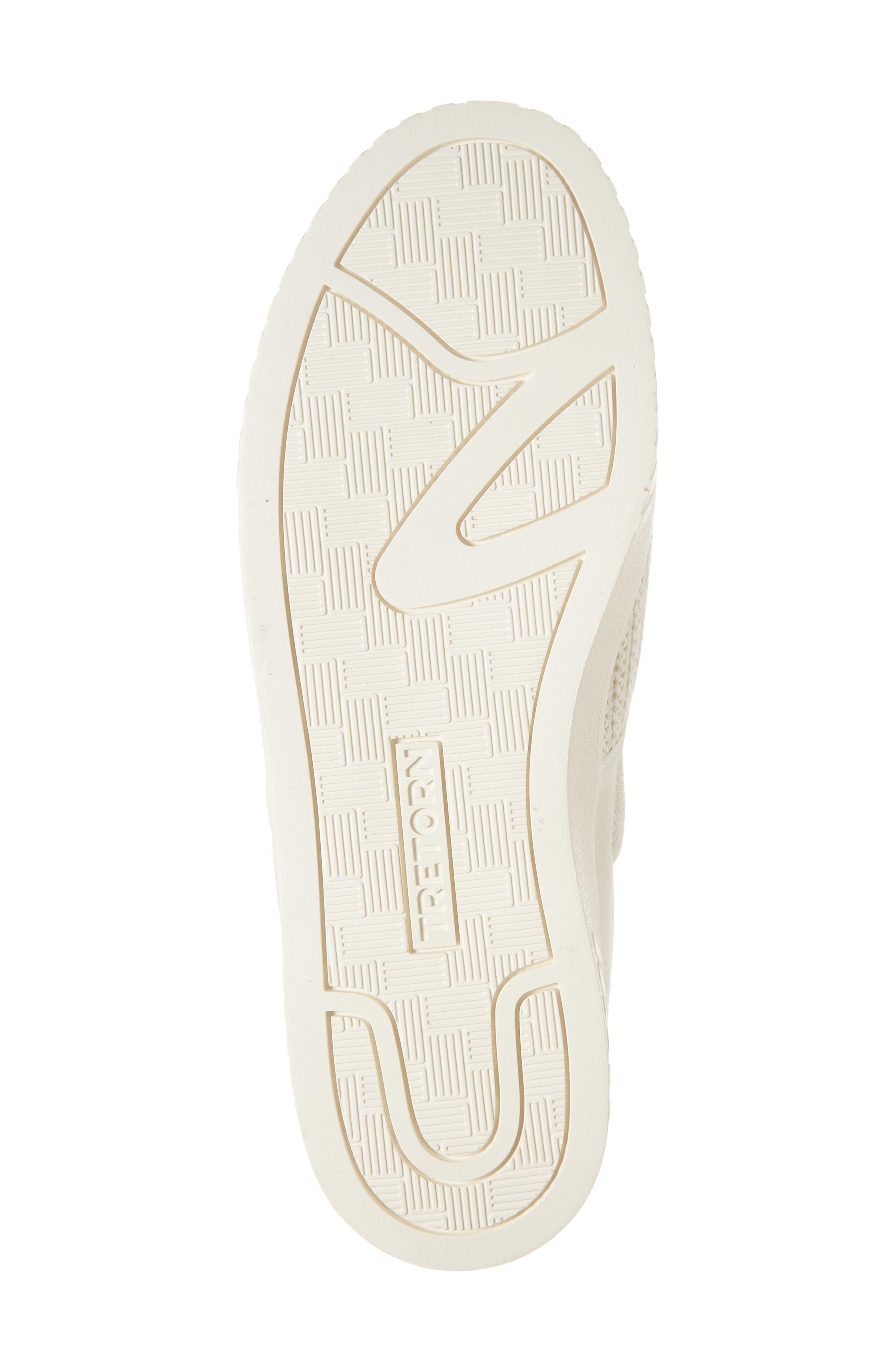 Cruz Mesh Slip-On Sneaker,                             Alternate thumbnail 6, color,                             Vintage White