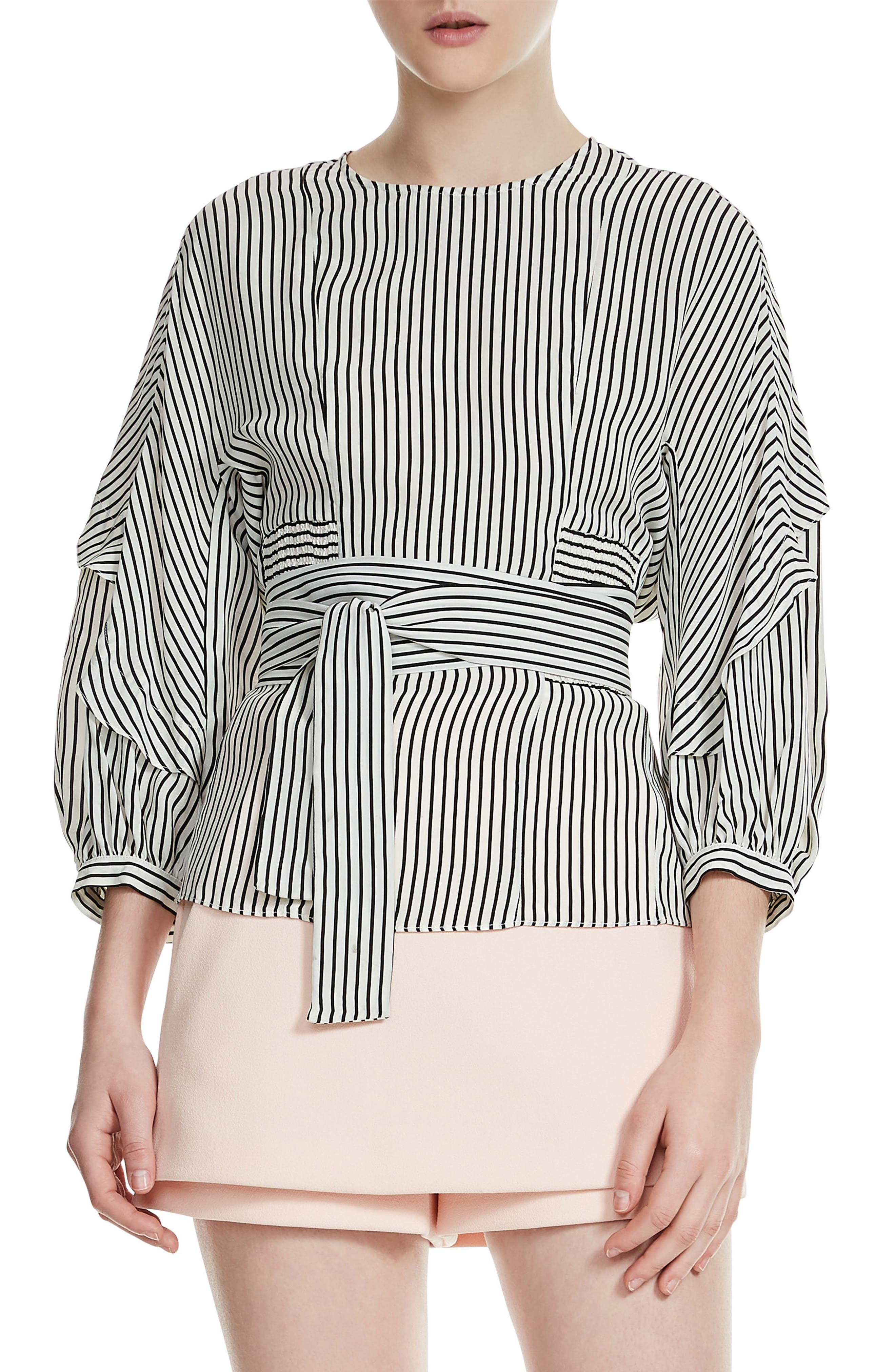 maje Loxy Stripe Top