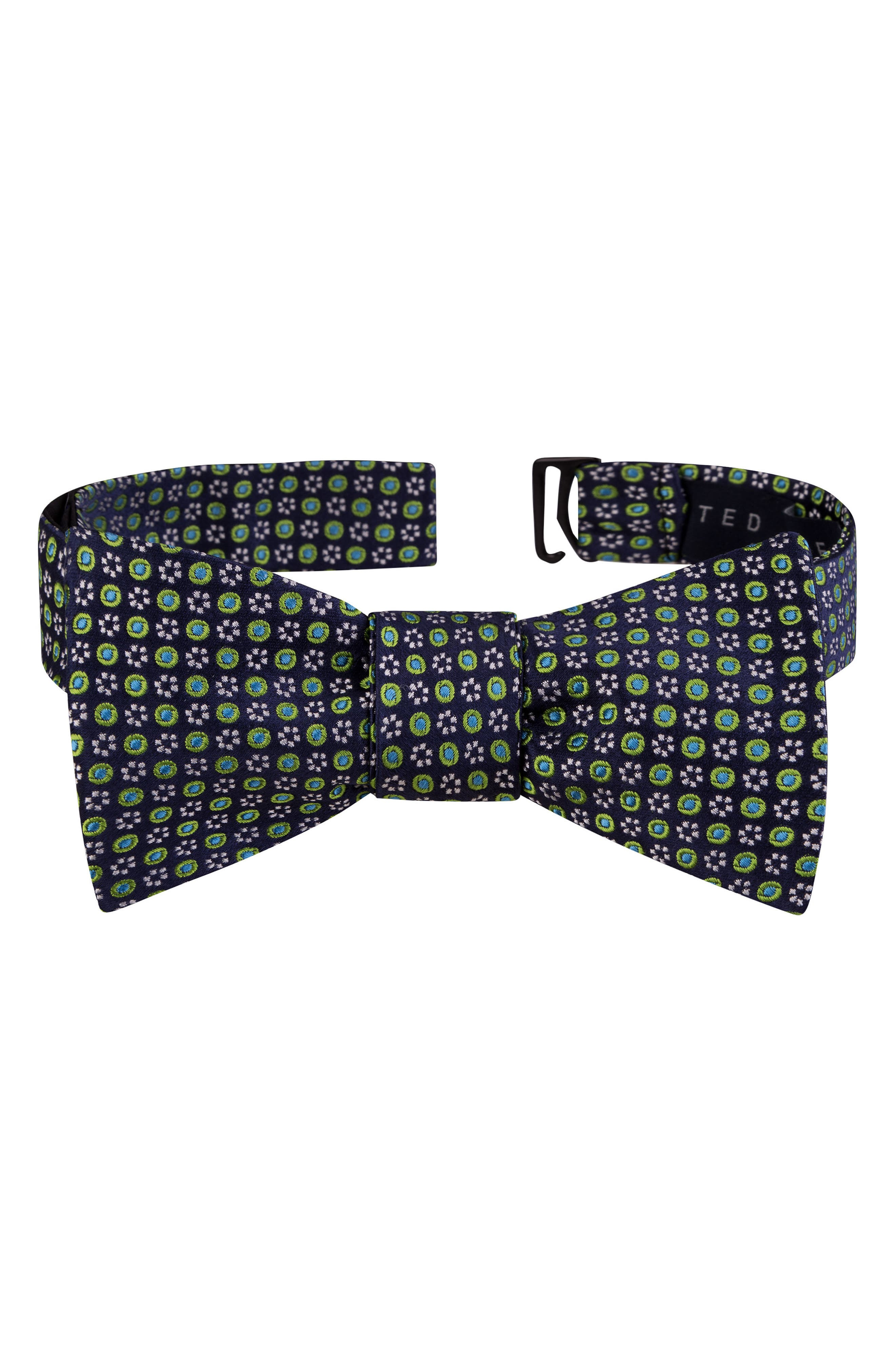 Alternate Image 1 Selected - Ted Baker London Grid Silk Bow Tie