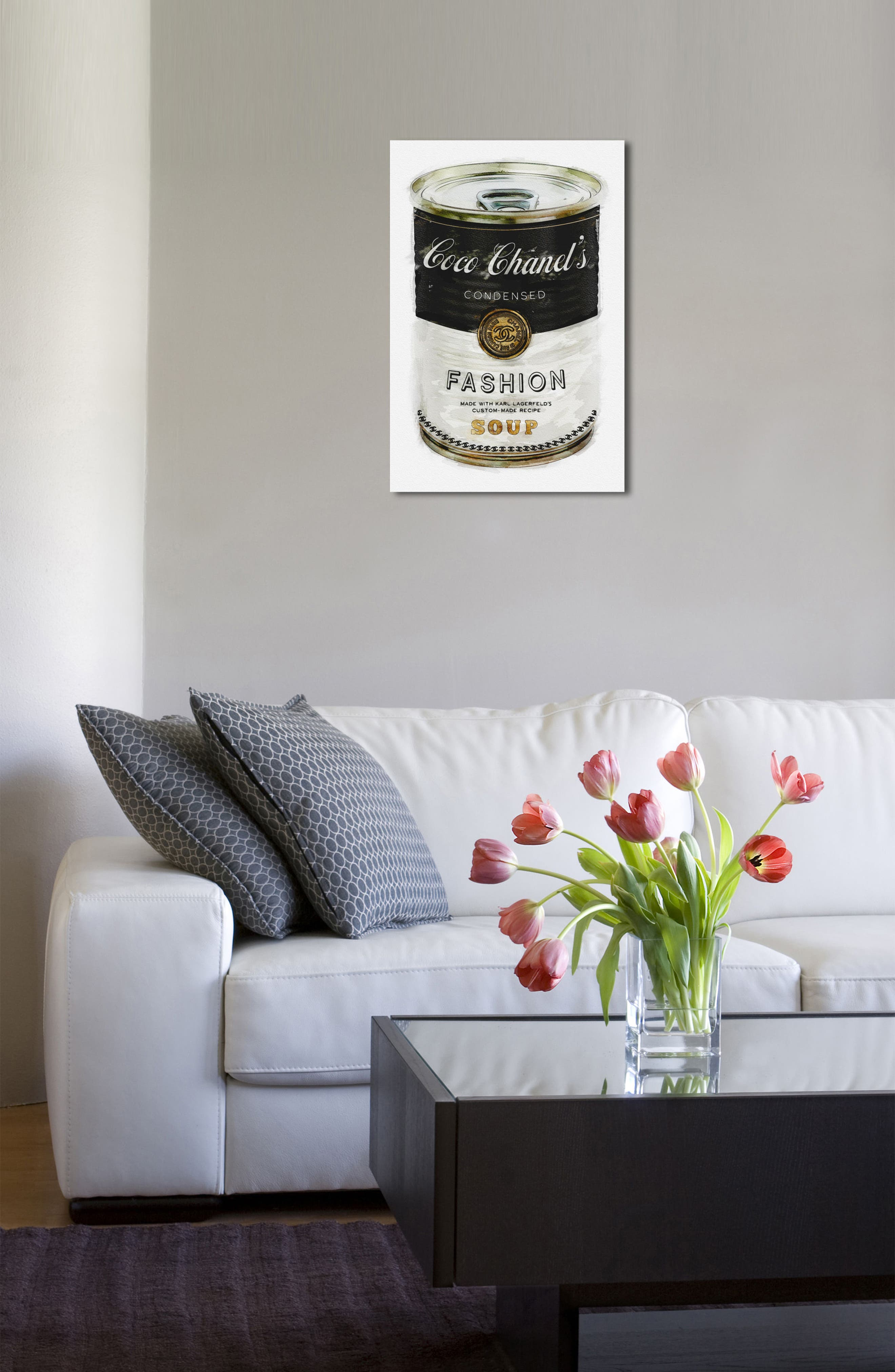 Alternate Image 3  - Oliver Gal Fashion Soup Canvas Wall Art