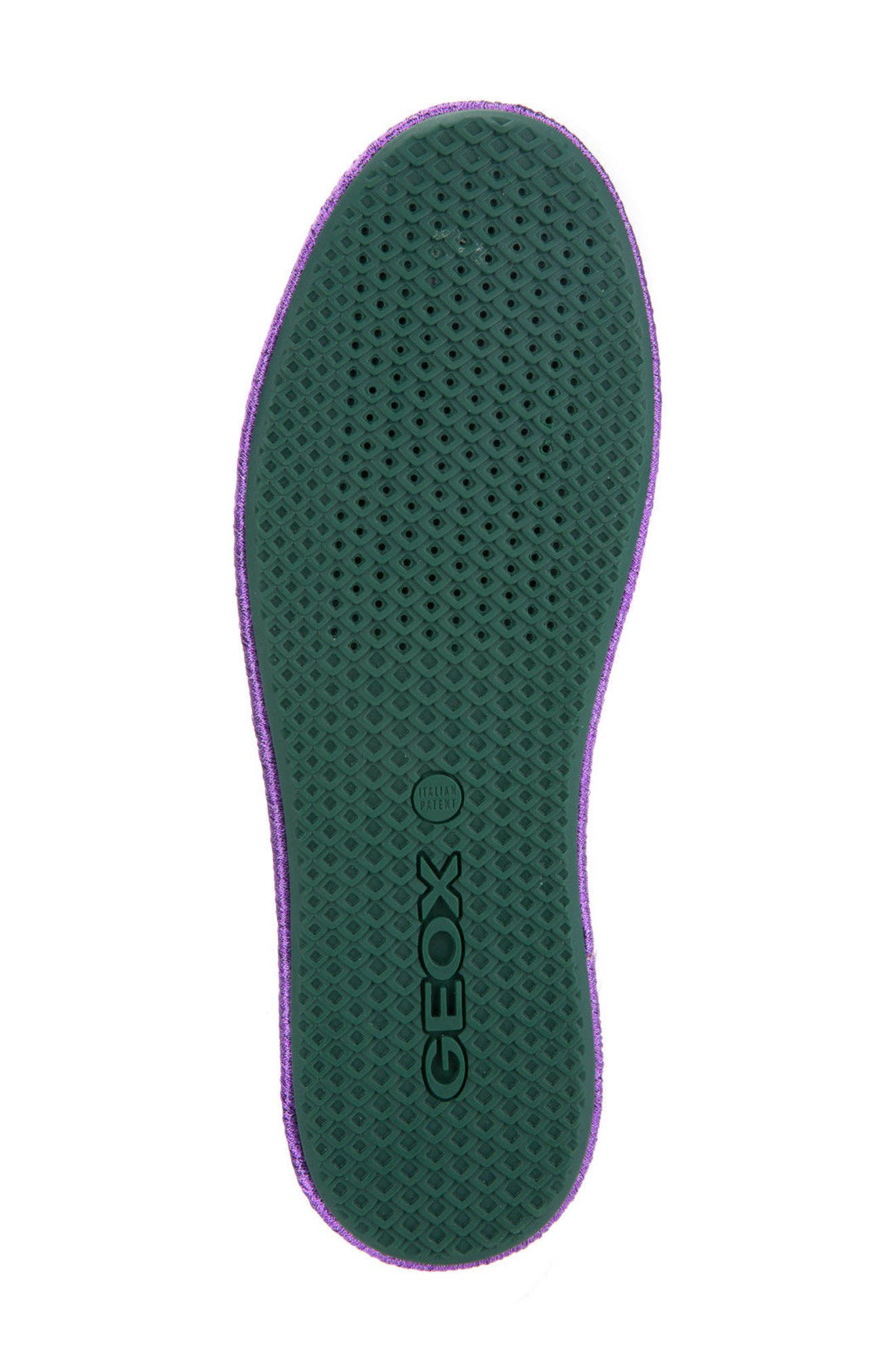 Alternate Image 5  - Geox Modesty Flat (Women)