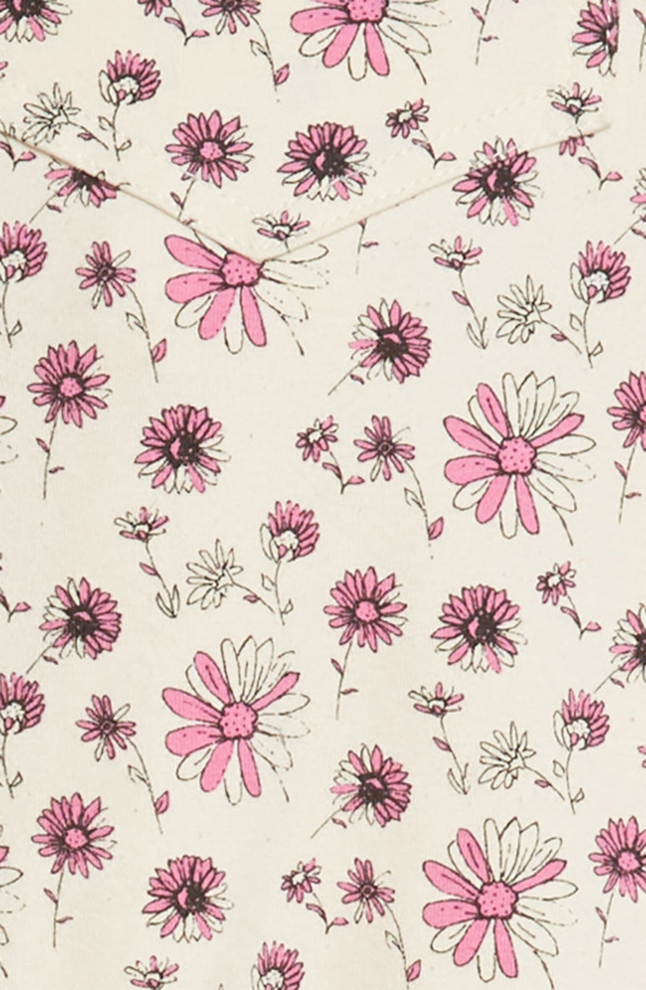 Springtime Overalls,                             Alternate thumbnail 2, color,                             Carnation