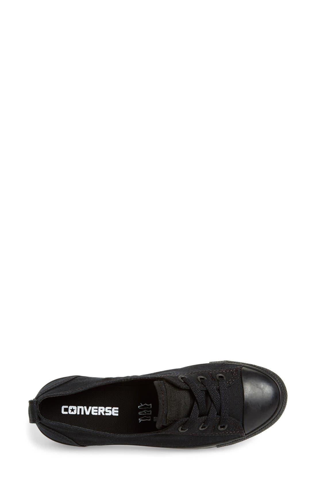 Alternate Image 3  - Converse Chuck Taylor® All Star® Ballet Canvas Sneaker (Women)