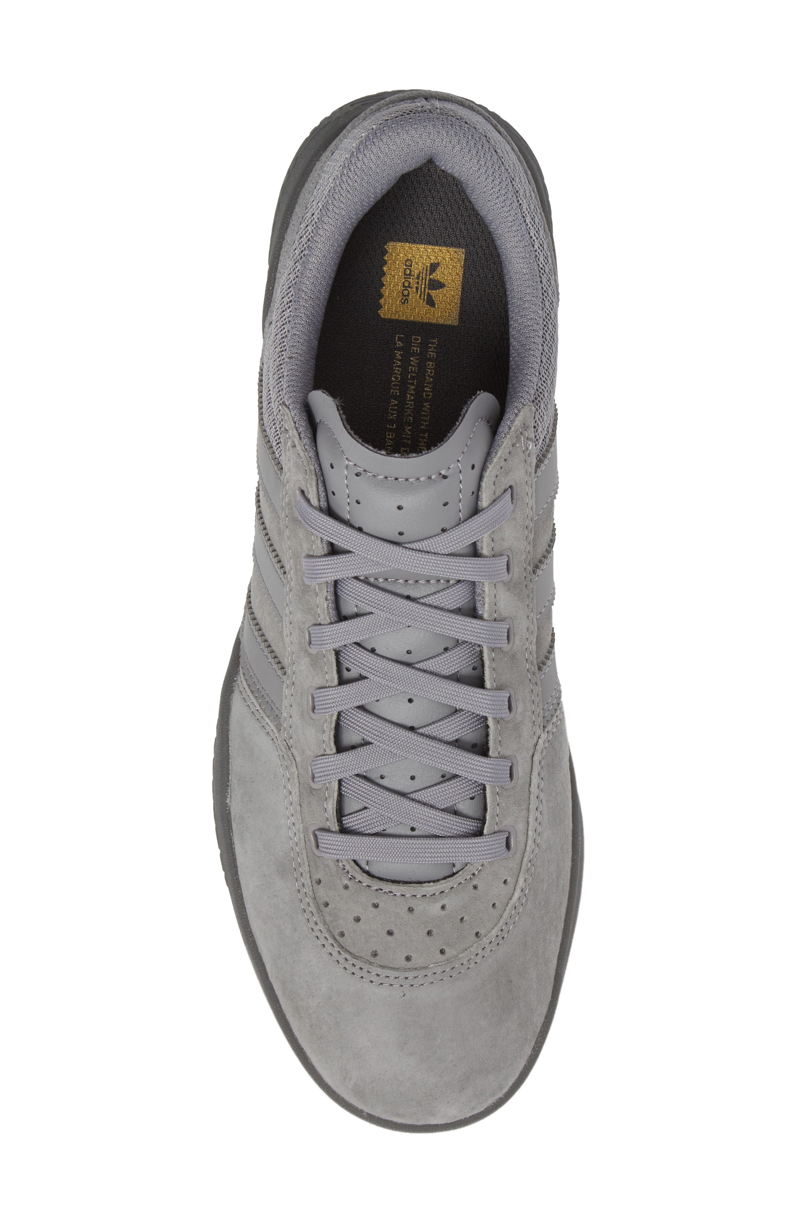 City Cup Sneaker,                             Alternate thumbnail 5, color,                             Grey/ Gold