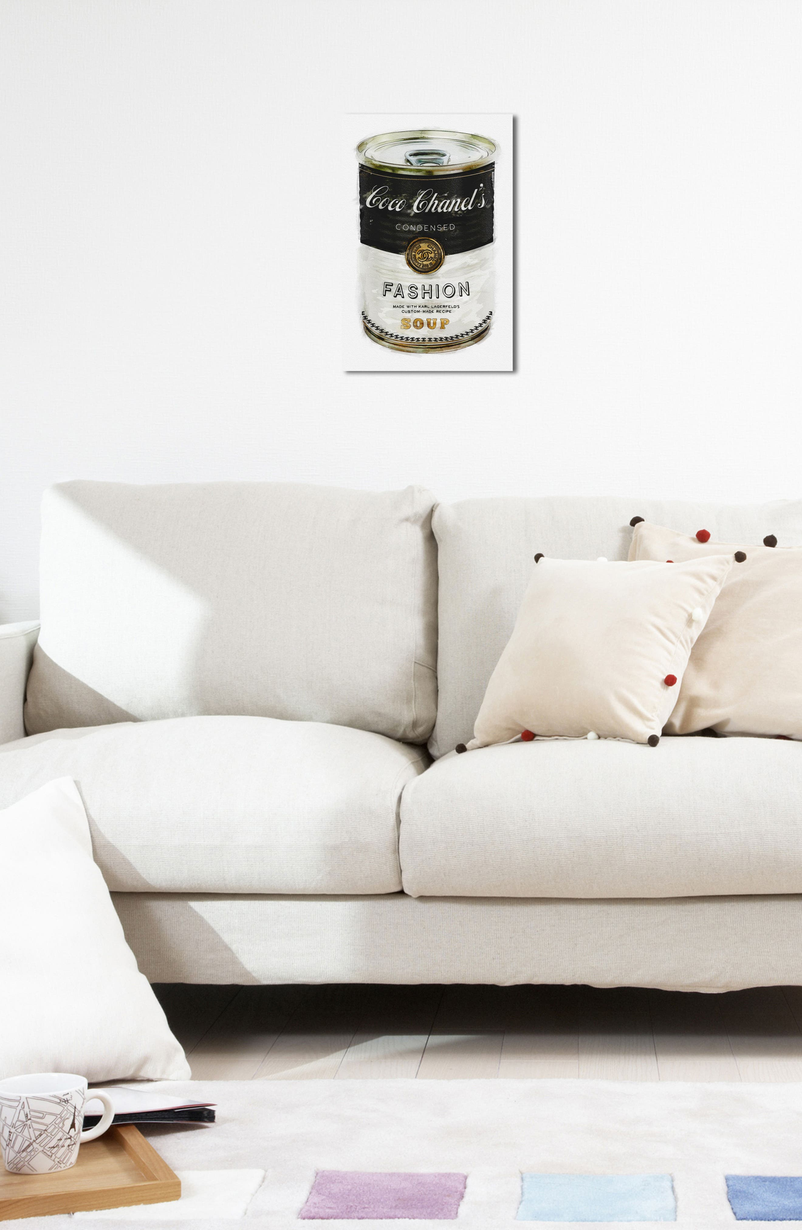 Alternate Image 5  - Oliver Gal Fashion Soup Canvas Wall Art