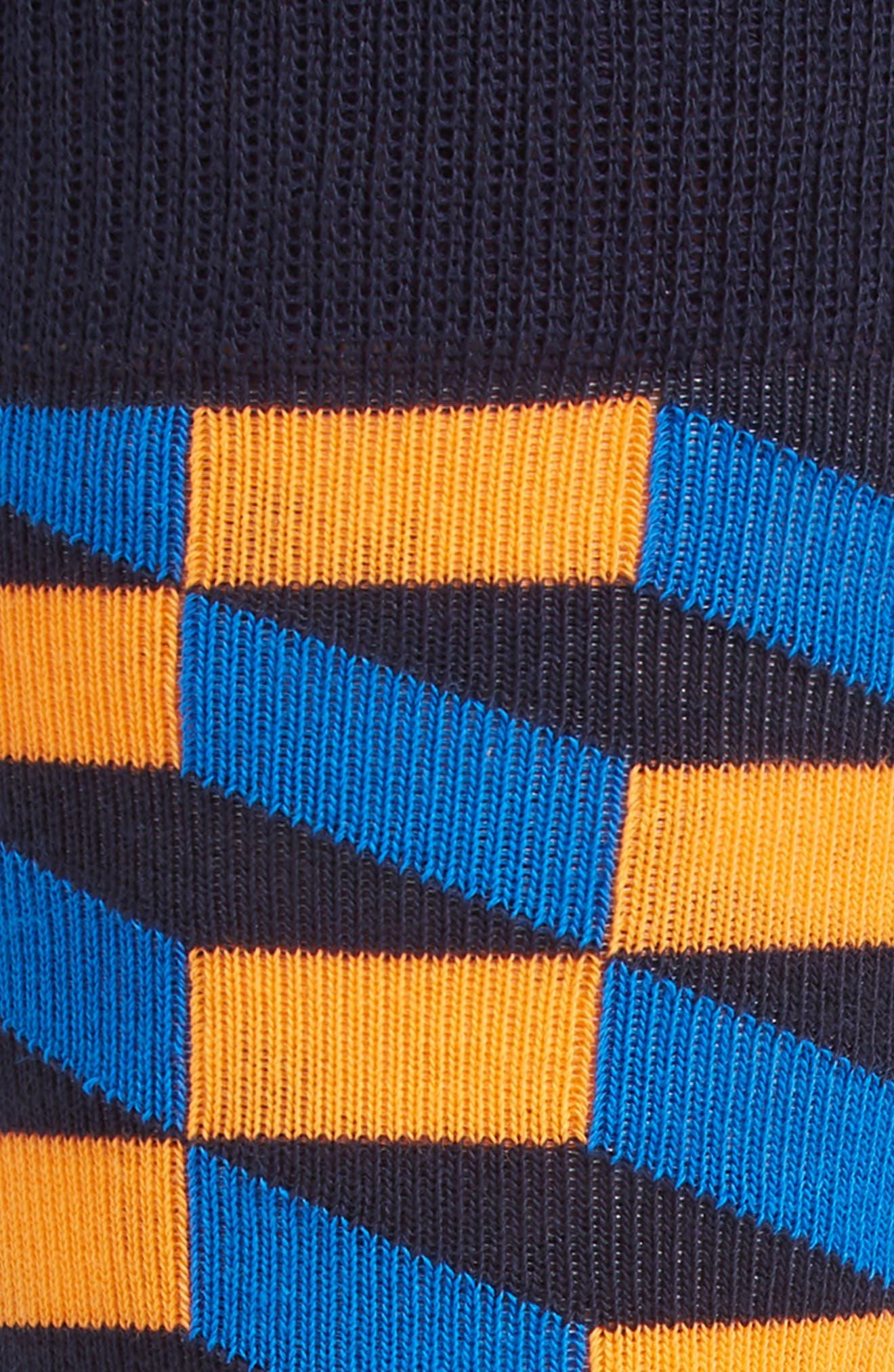 Optic Socks,                             Alternate thumbnail 2, color,                             Black Multi