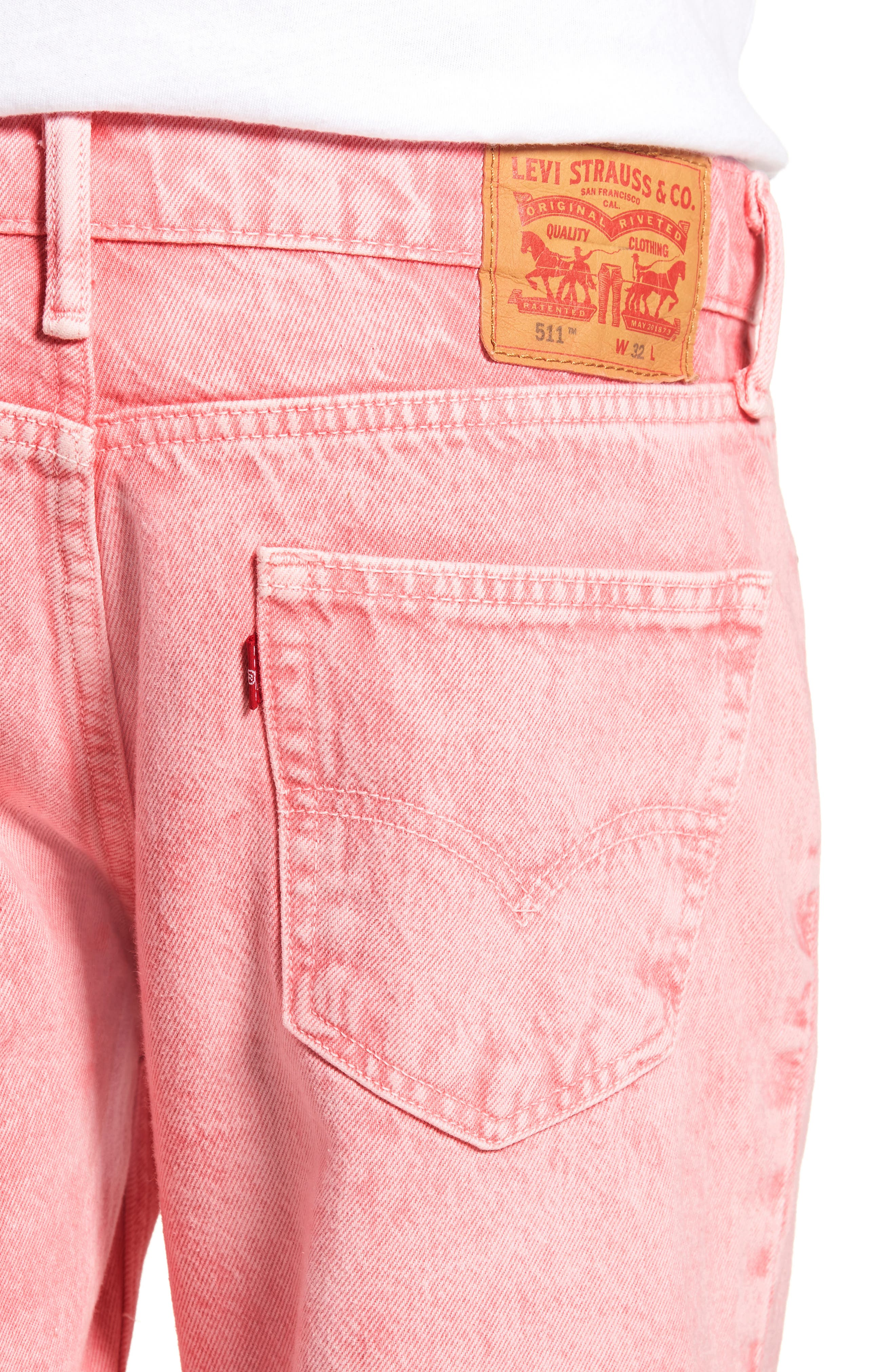 511<sup>™</sup> Cutoff Denim Shorts,                             Alternate thumbnail 4, color,                             Glinda Short