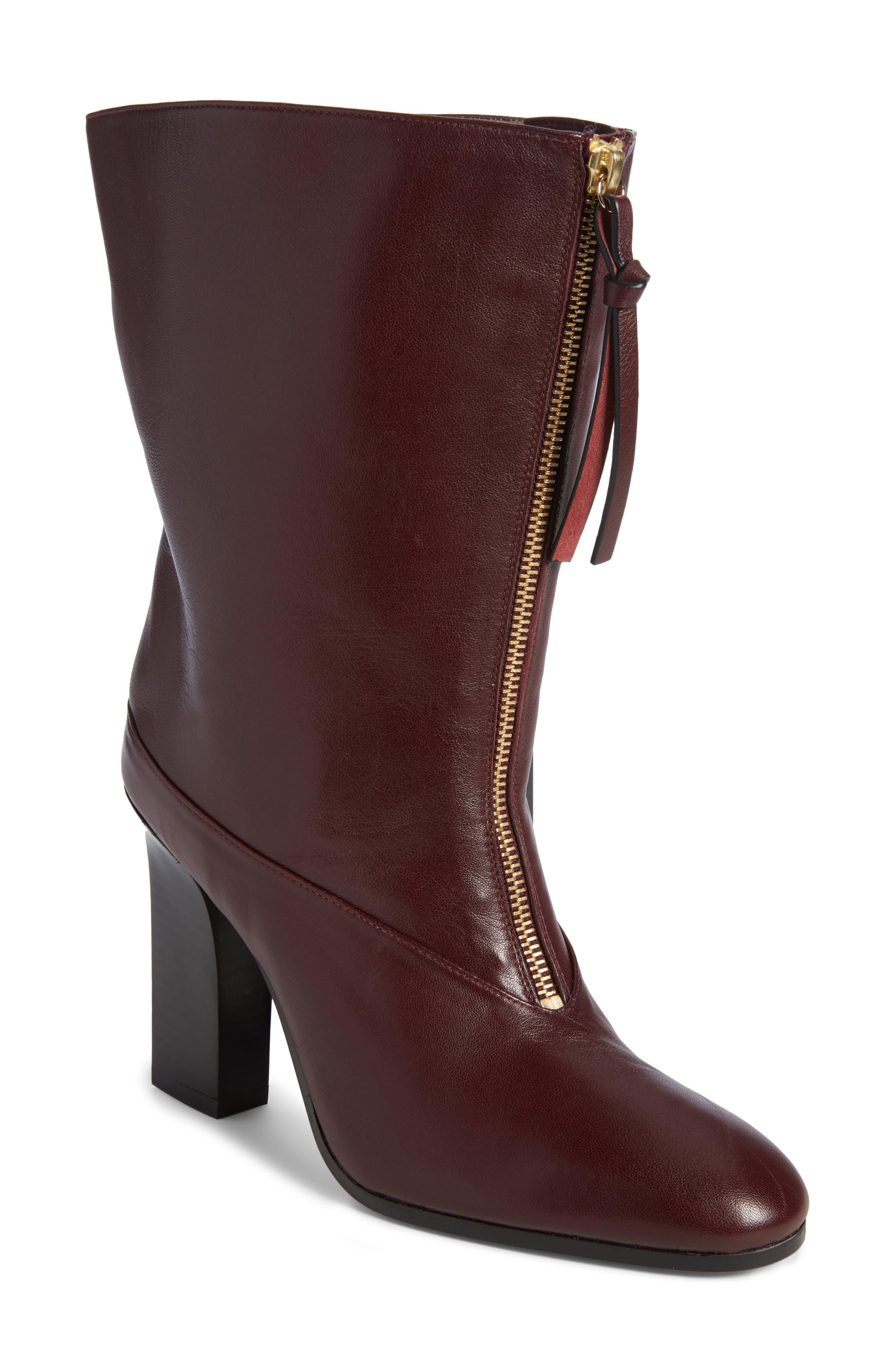 Stuart Weitzman Jett Front Zip Boot (Women)