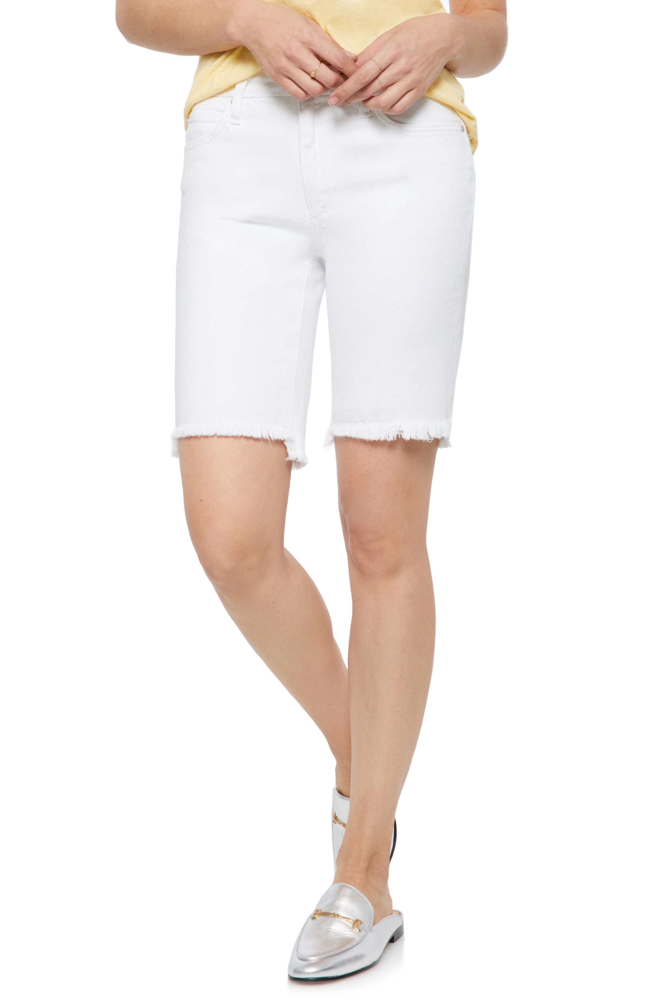 Joe's Honey Curvy High Waist Bermuda Shorts (Reno)