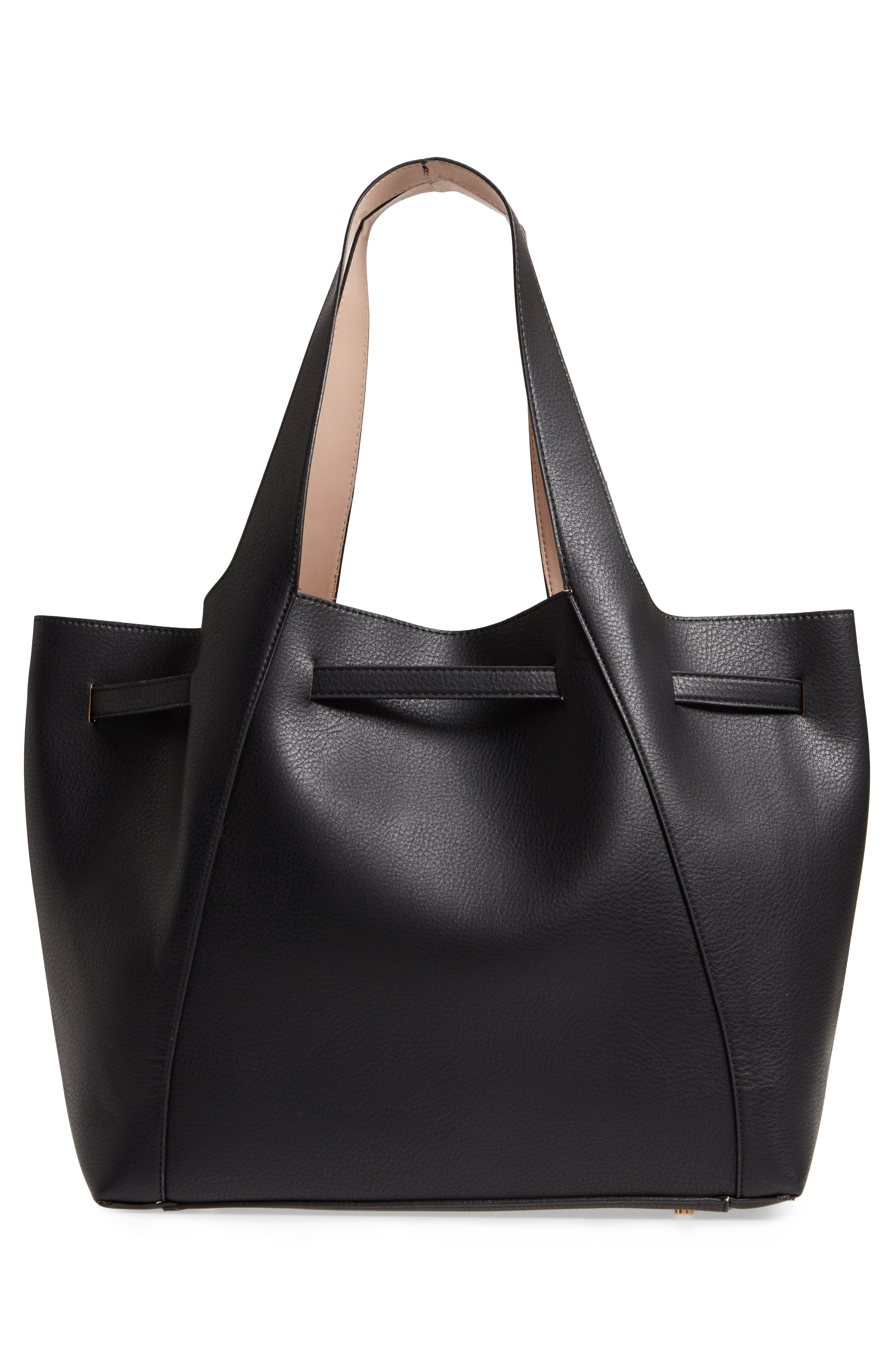 Keely Tote Bag,                             Alternate thumbnail 3, color,                             Black