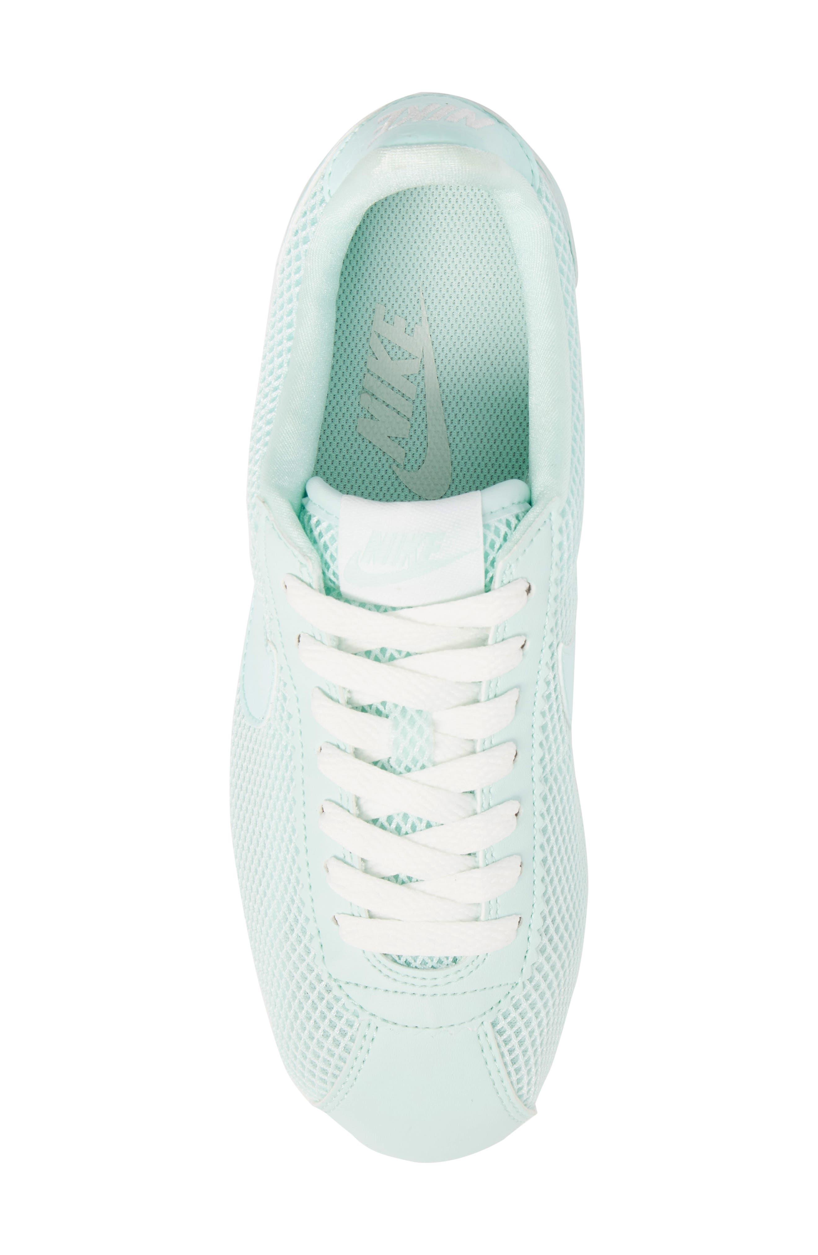 Classic Cortez Premium XLV Sneaker,                             Alternate thumbnail 5, color,                             Igloo/ Igloo/ Summit White
