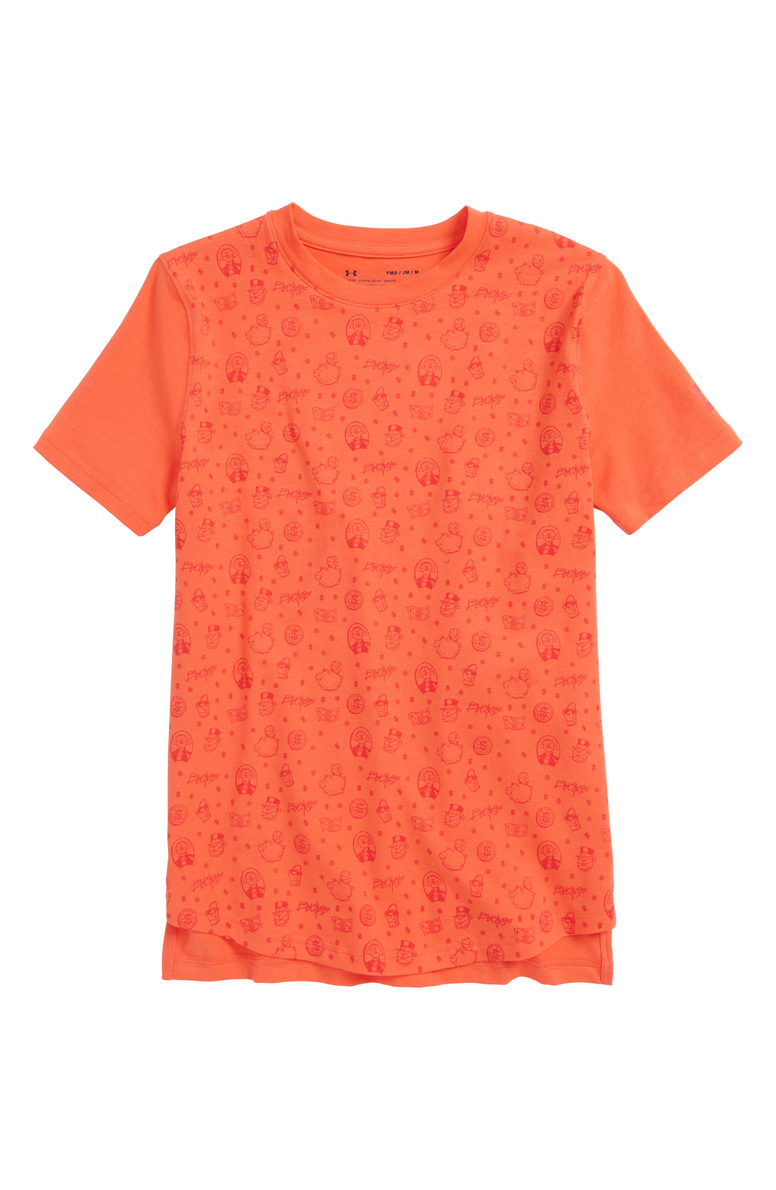 Under Armour Baseline HeatGear® T-Shirt (Big Boys)