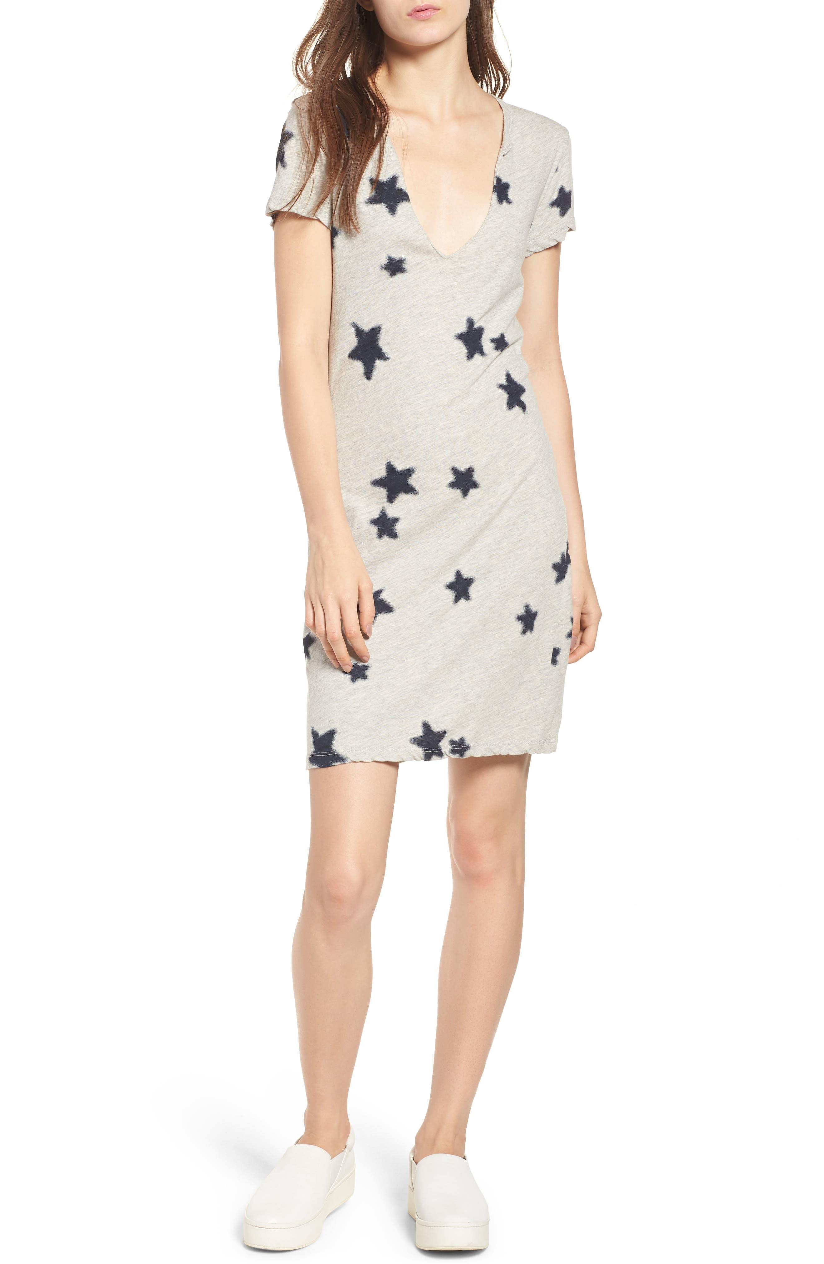 Pam & Gela Star Print Dress
