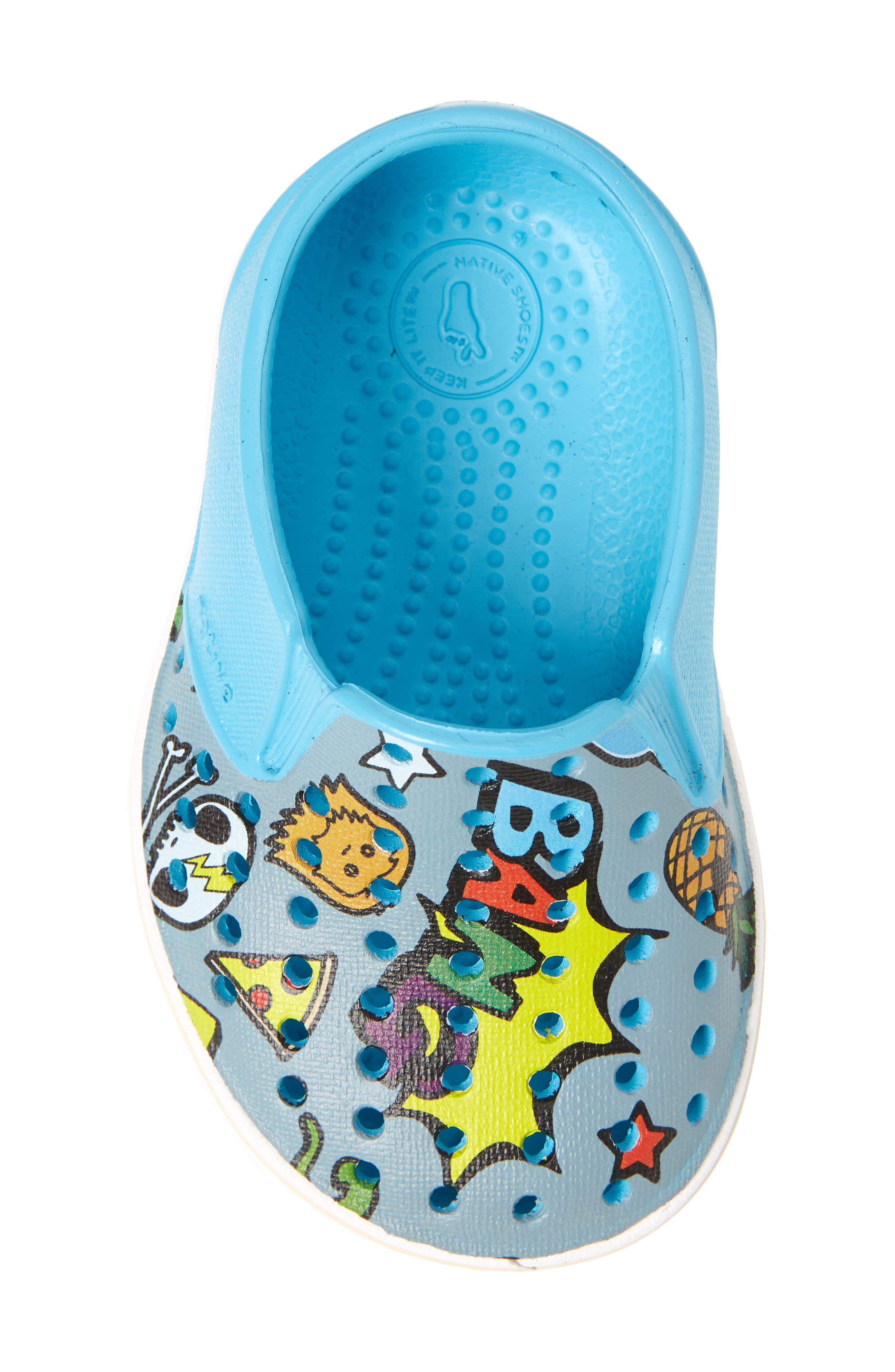 Alternate Image 5  - Native Shoes Miles Print Slip-On Sneaker (Baby, Walker, Toddler, Little Kid & Big Kid)