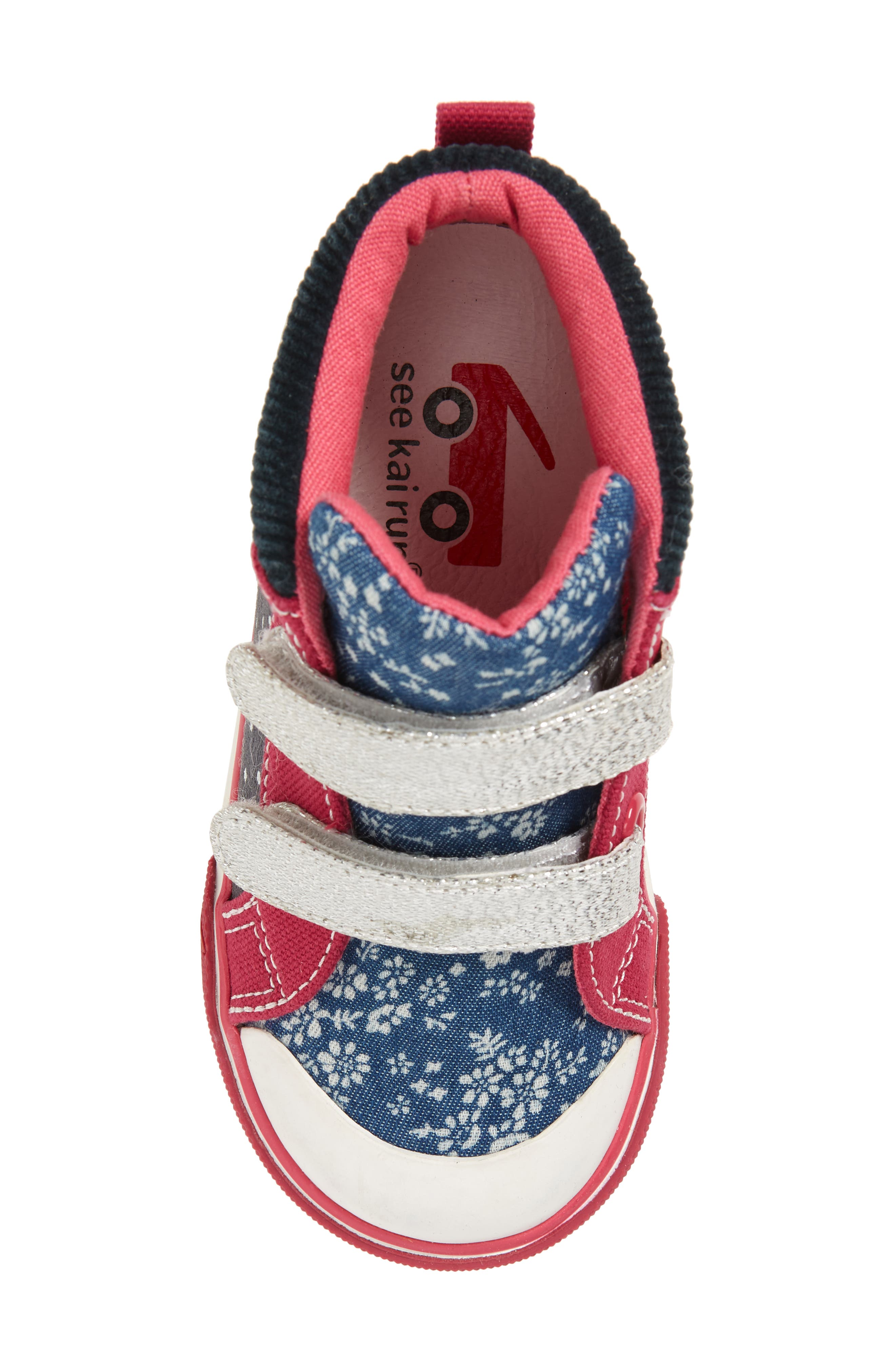 Kya Sneaker,                             Alternate thumbnail 5, color,                             Navy Corduroy/ Multi