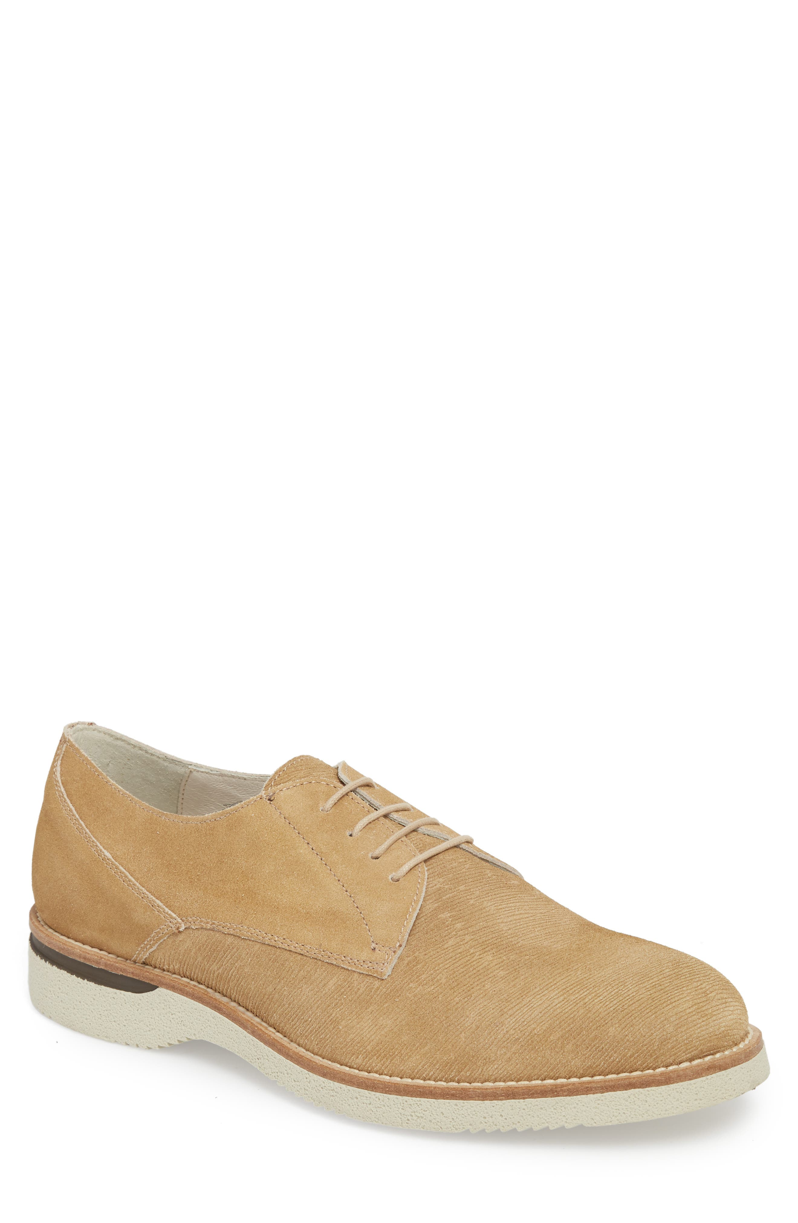 Kenneth Cole New York Douglas Textured Plain Toe Derby (Men)