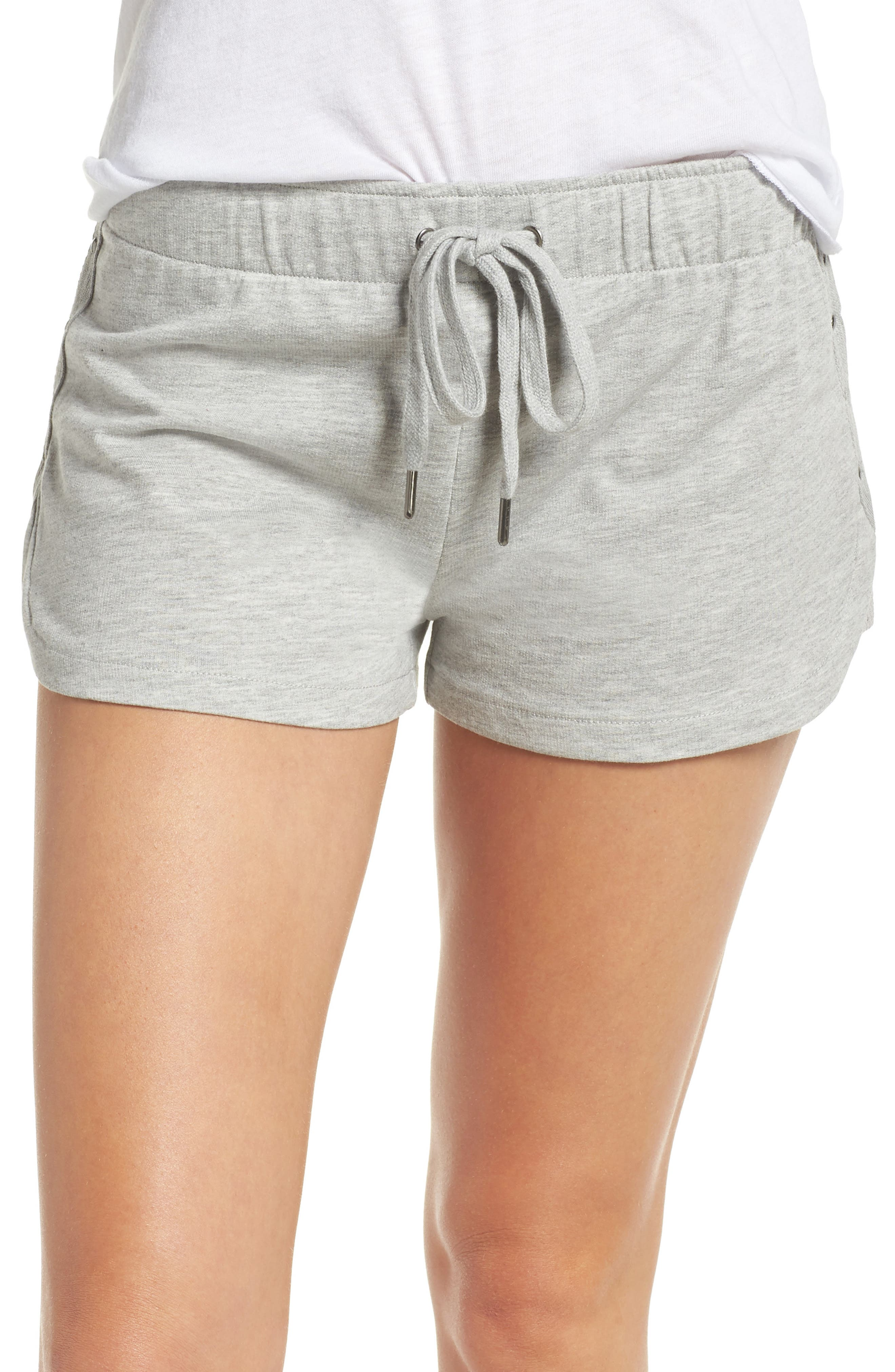 Pajama Shorts,                         Main,                         color, H Grey