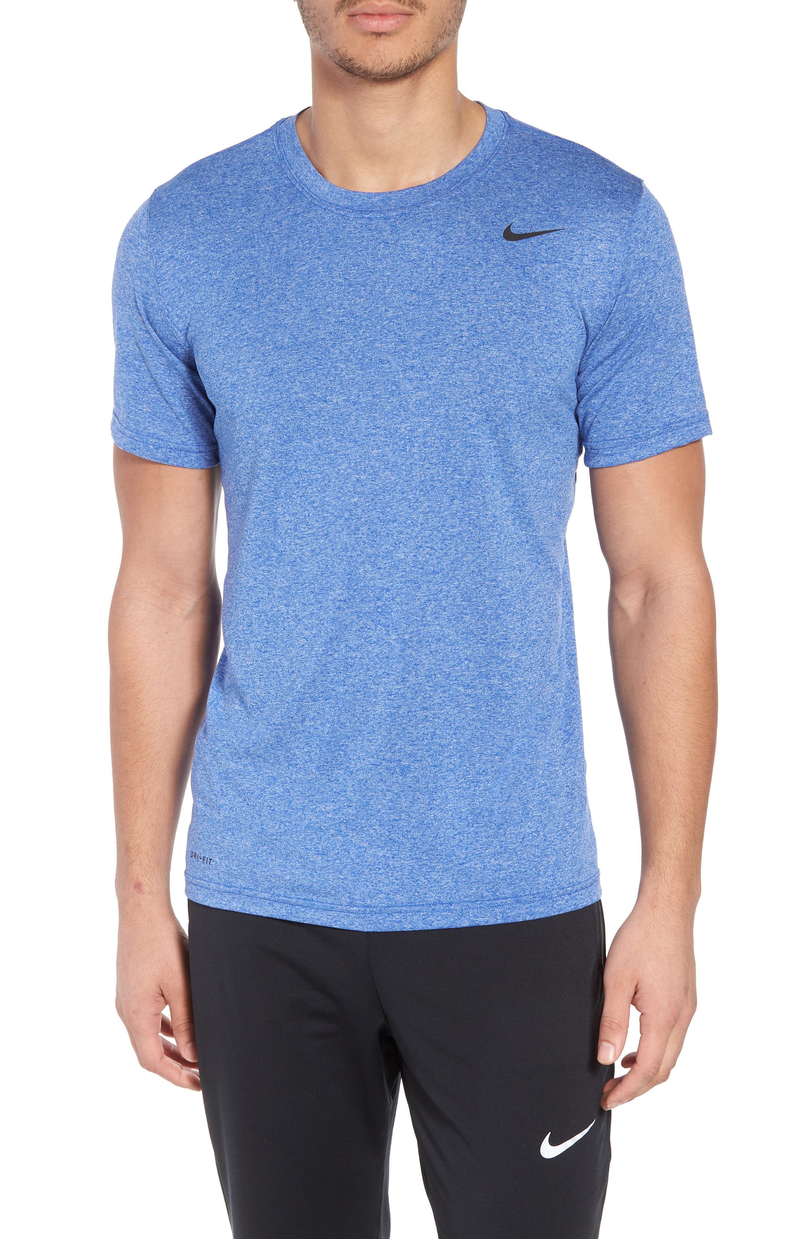 Legend 2.0 Dri-FIT Graphic T-Shirt,                         Main,                         color, Hyper Royal/ Ocean/ Heather