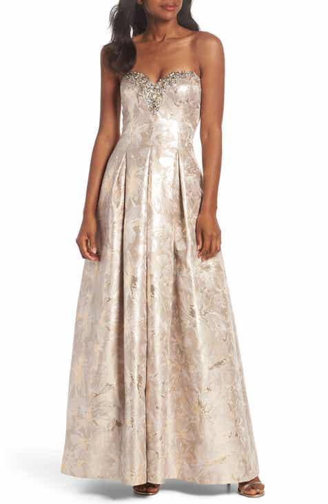 Womens Strapless Formal Dresses Nordstrom