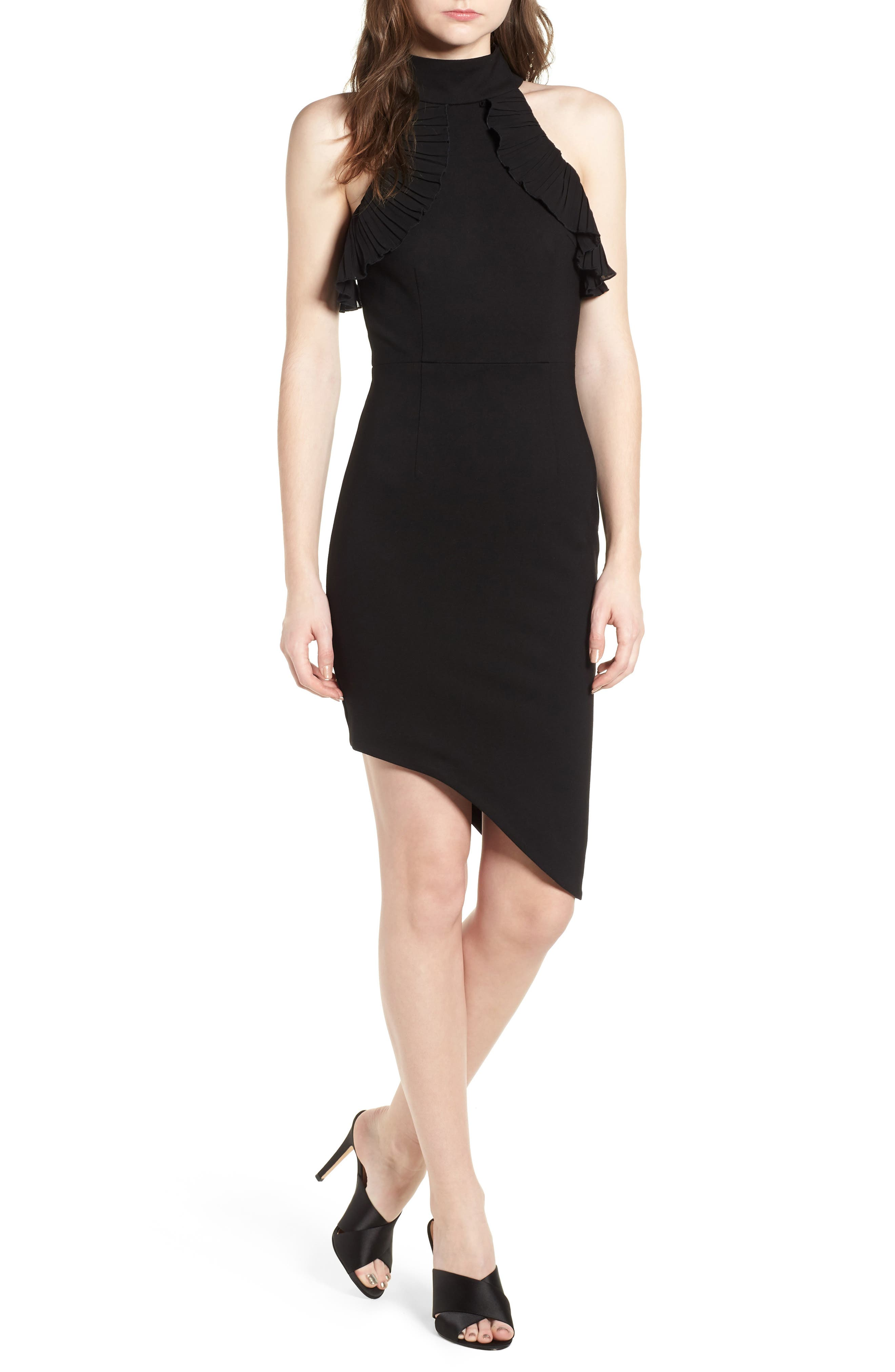 Exposition Dress,                             Main thumbnail 1, color,                             Black