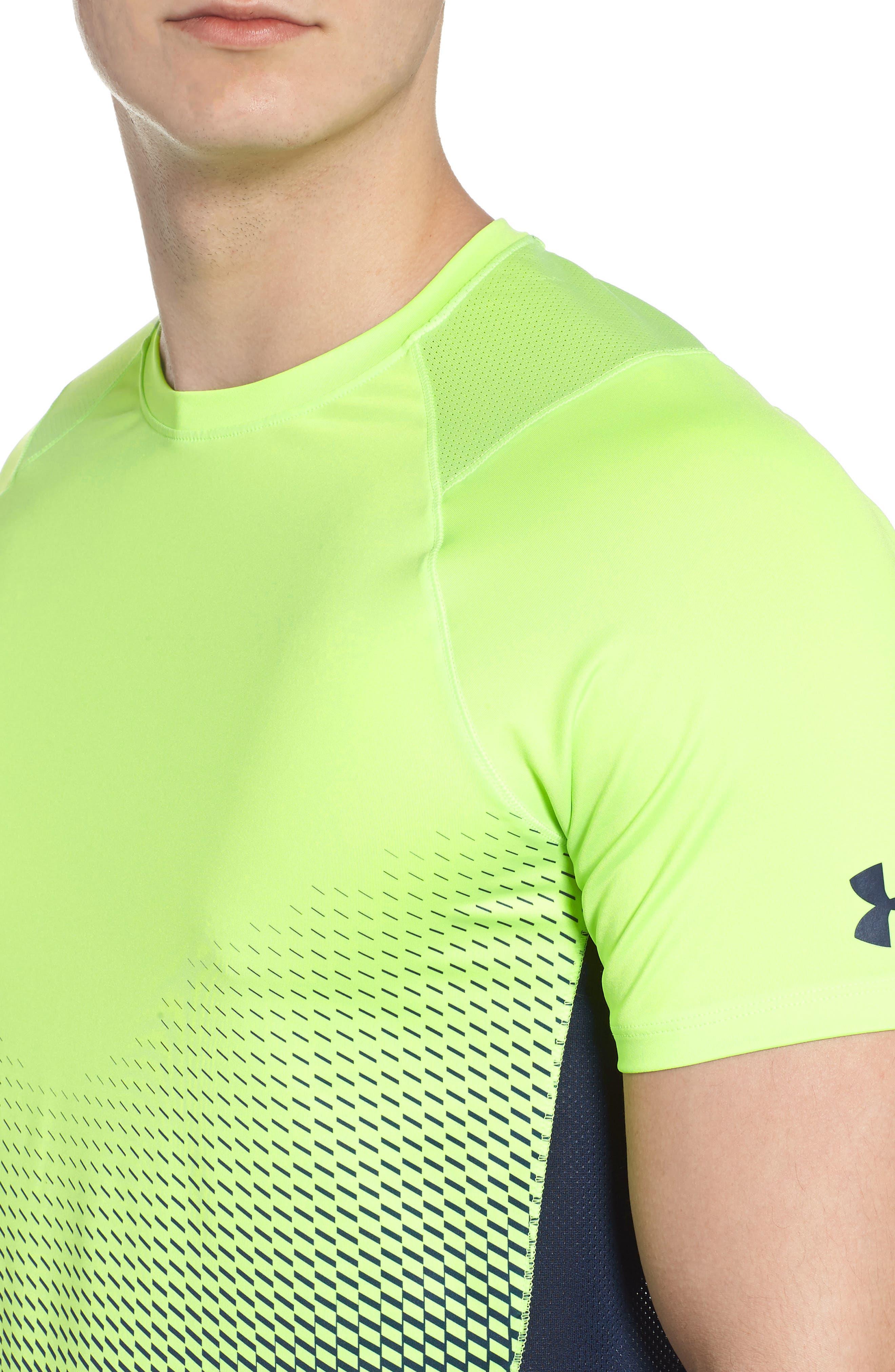 MK1 Dash Crewneck T-Shirt,                             Alternate thumbnail 4, color,                             Lime / Academy / Graphite