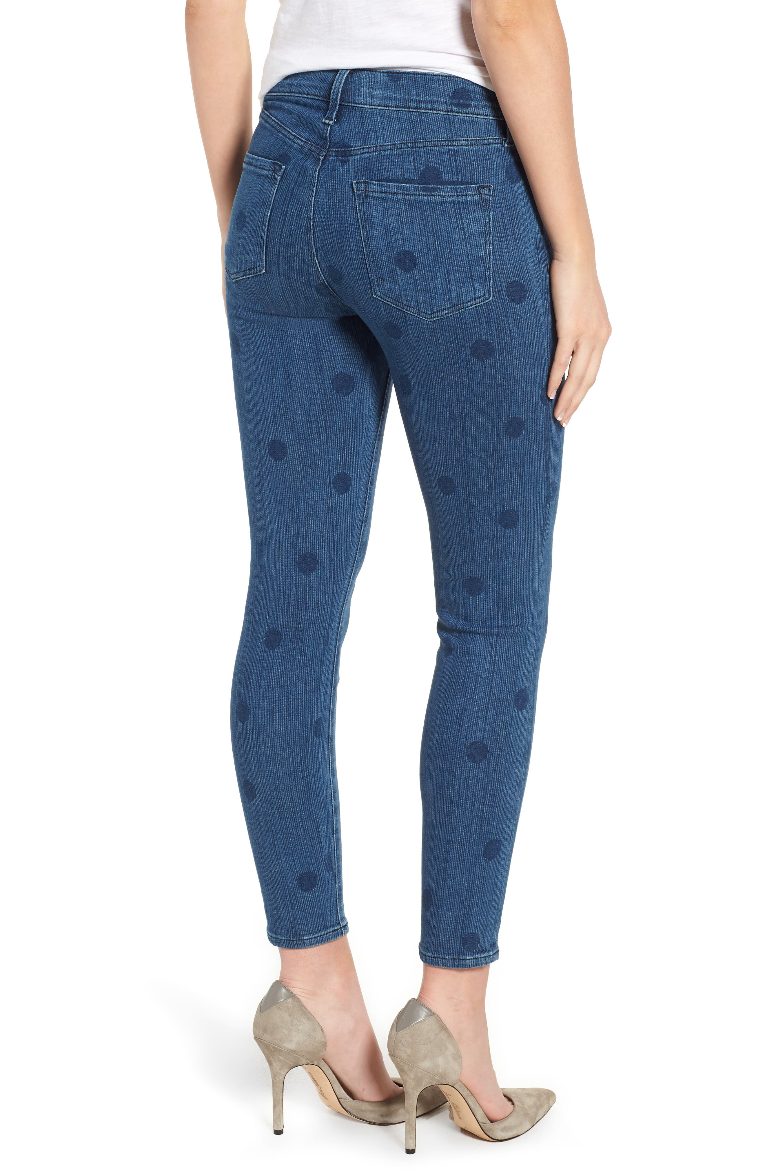 835 Capri Skinny Jeans,                             Alternate thumbnail 2, color,                             Aerial