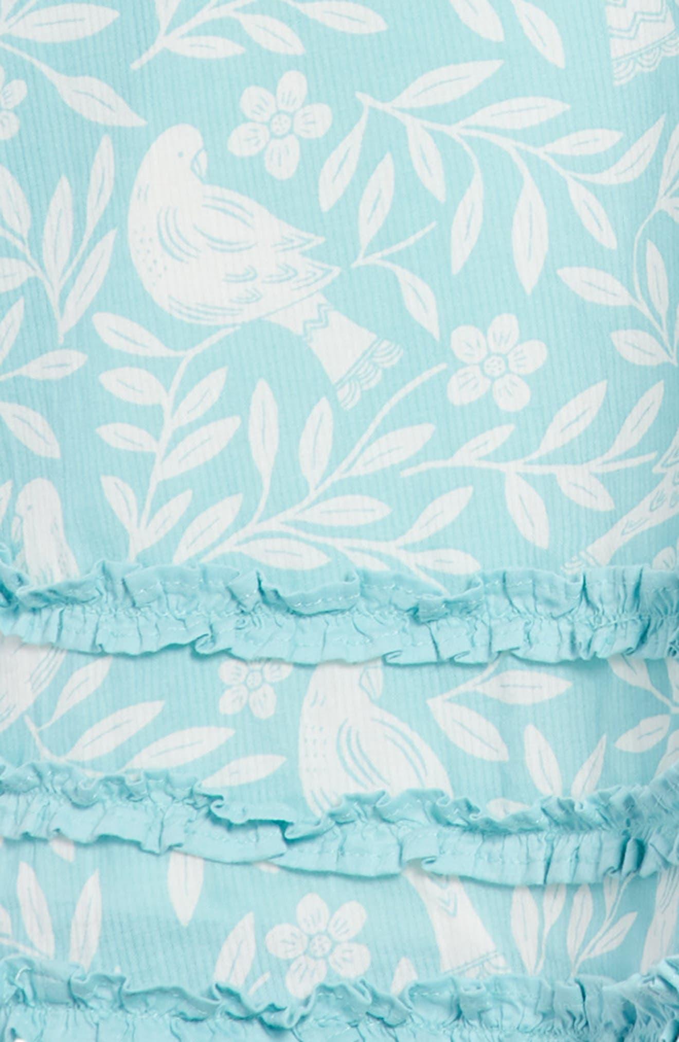 Vacation Woven Dress,                             Alternate thumbnail 2, color,                             Camper Blue Lino Bir