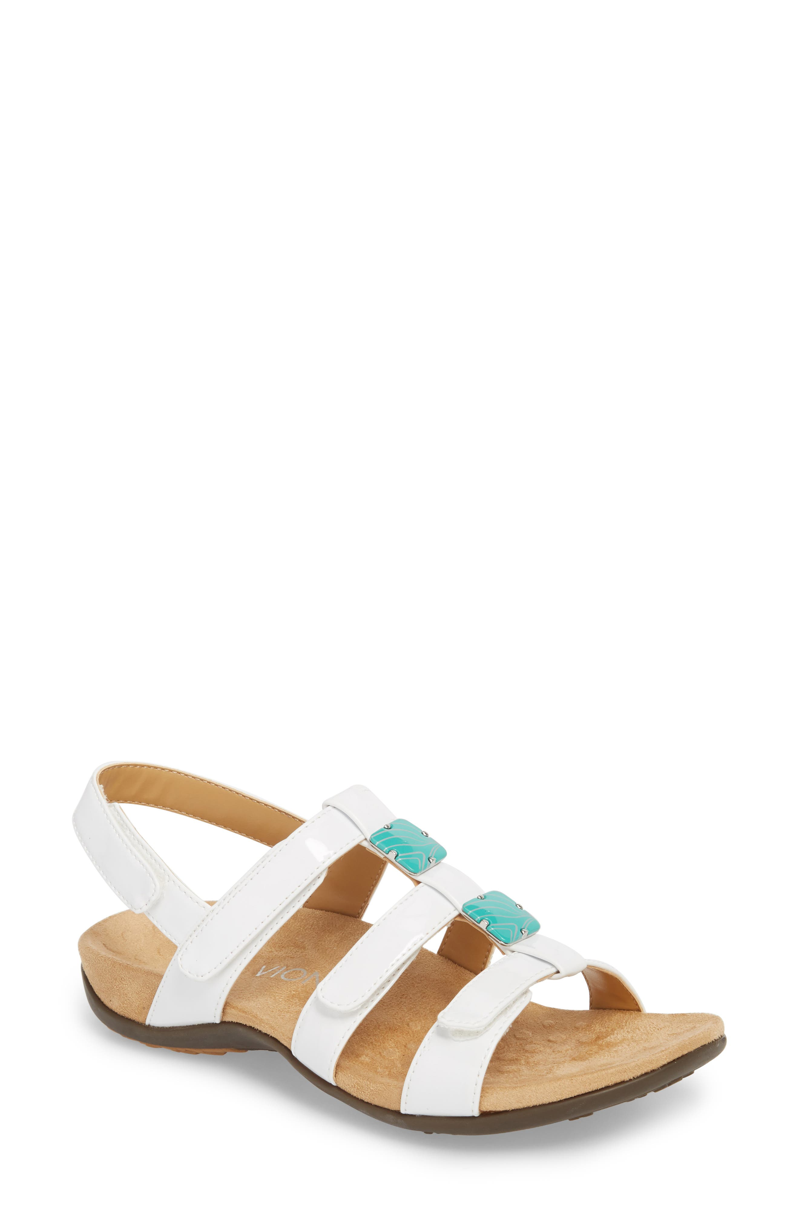 Vionic 'Amber with Orthaheel® Technology' Adjustable Sandal