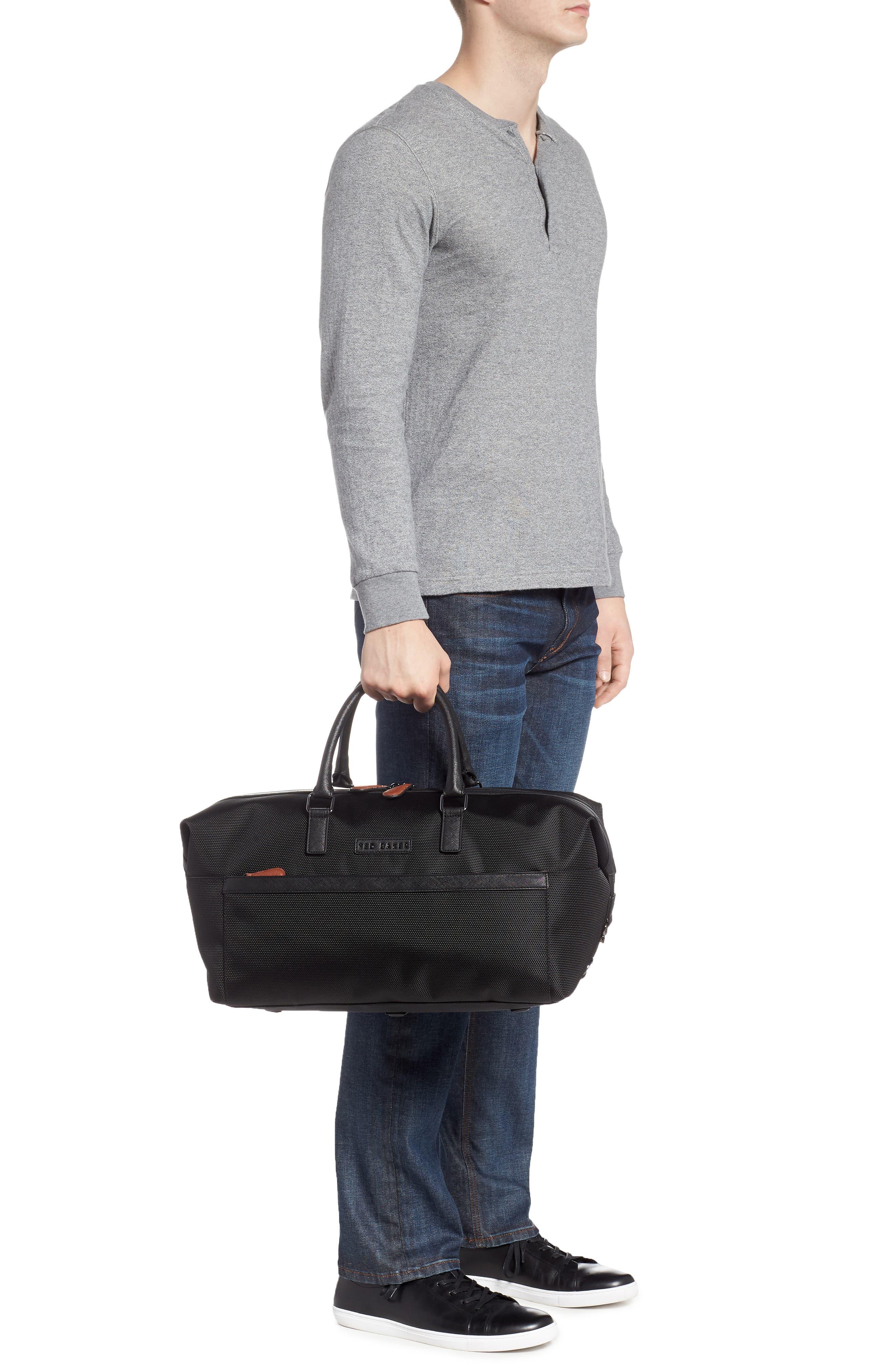 Smart Duffel Bag,                             Alternate thumbnail 2, color,                             Black