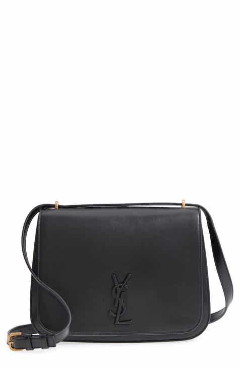 Saint Laurent Medium Spontini Leather Shoulder Bag