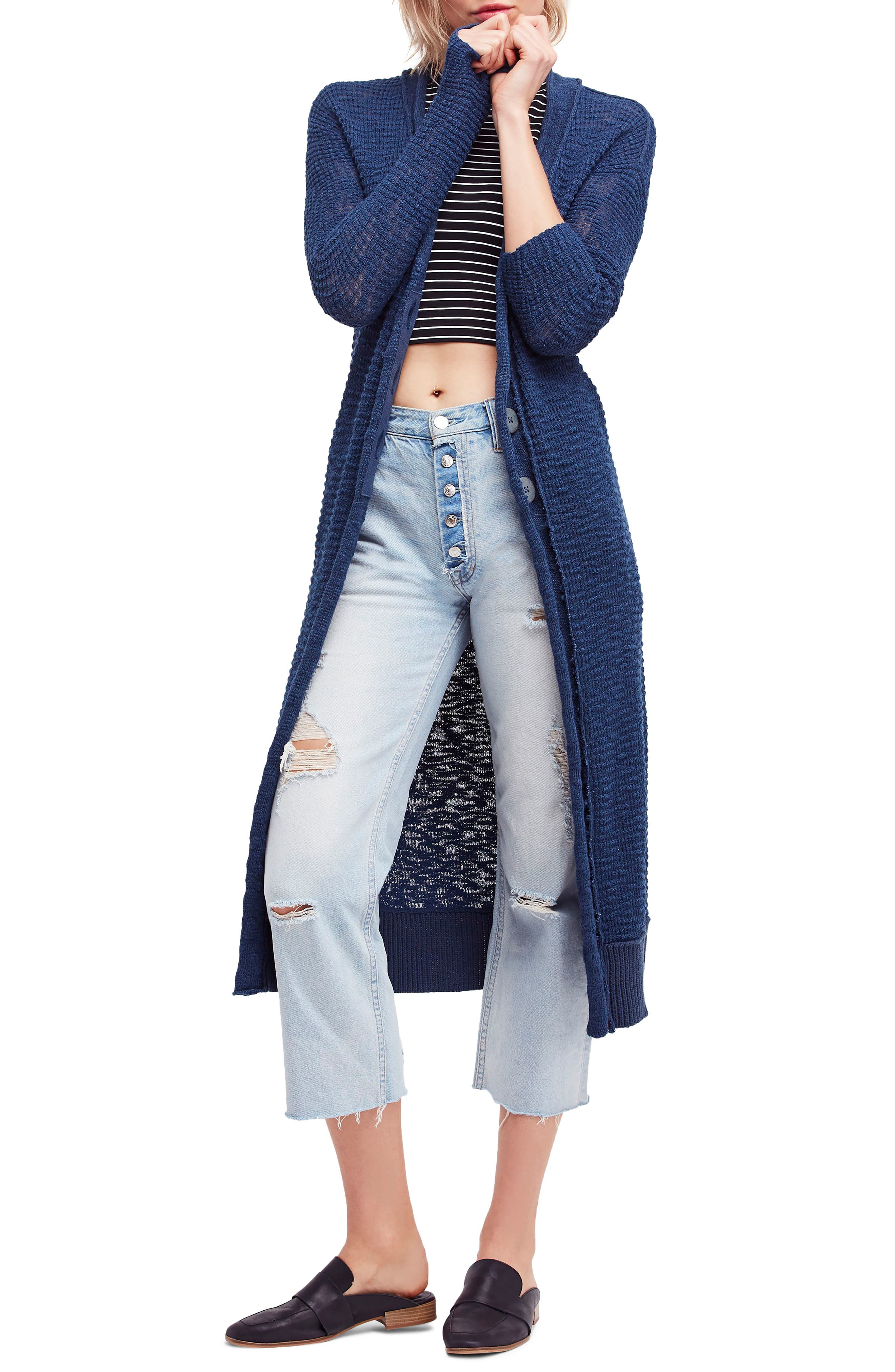 CLEARWATER LONG CARDIGAN