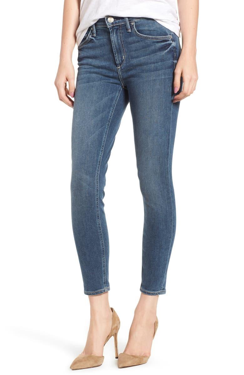Newton Crop Skinny Jeans